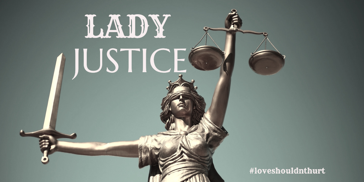 Lady Justice is a combination of Roman and Greek goddesses: Justitia who was the Roman goddess of justice and Themis who was the Greek goddess that encompasses divine order, law and custom. According to Reference.com, Lady Justice is blindfolded to represent her impartiality in matters of justice and the law.    Luke's Place assists women seeking order and justice for themselves and their children when separating from their abusers.