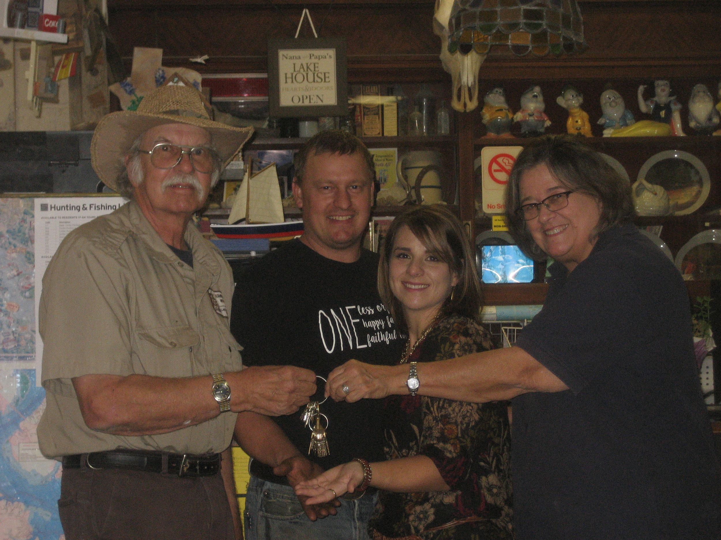 Don, Craig, Caylene & Dawn
