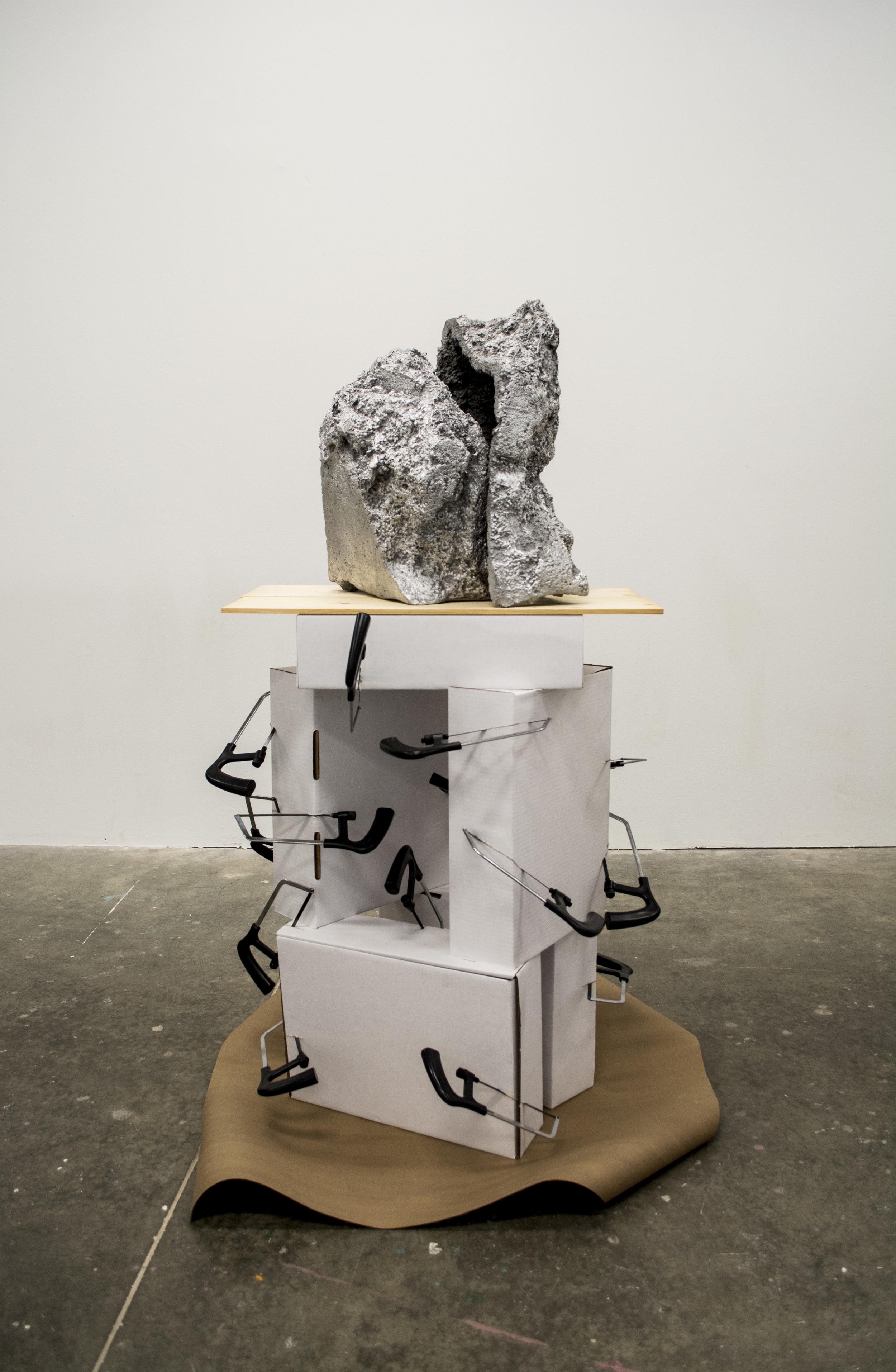 aluminum stack