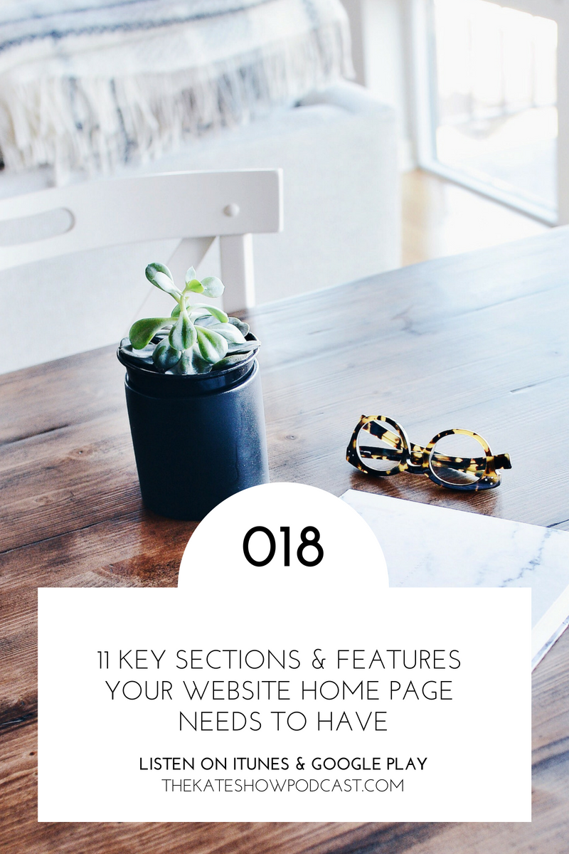 11 Key Sections & Features Your Website Home Page Needs to Have