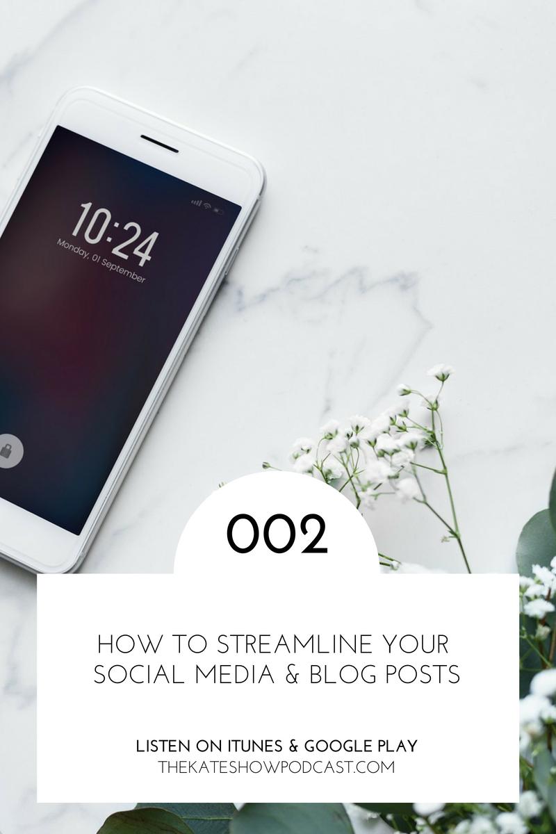 How to Streamline Social Media & Blogging for Interior Design