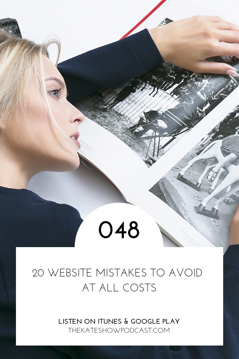 20 Website Design Mistakes to Avoid at All Costs
