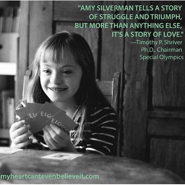 """October is Down syndrome awareness month. """"My Heart Can't Even Believe It: A Story of Science, Love, and Down Syndrome"""" is available at my favorite indie bookstore, changinghands.com and on amazon.com Details in link on bio.  #downsyndrome #sophiebook #myheartcantevenbelieveit"""