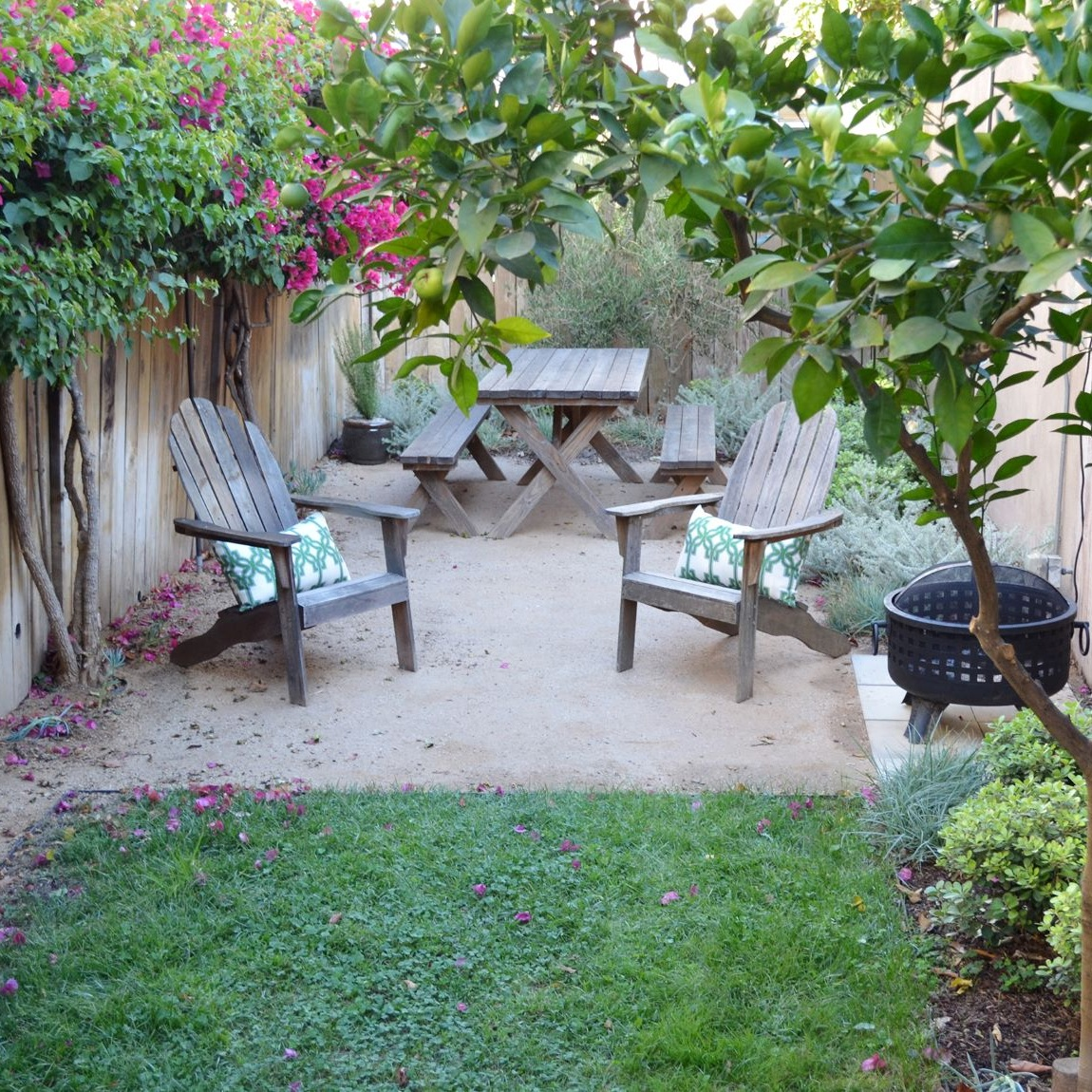 West Hollywood Backyard -