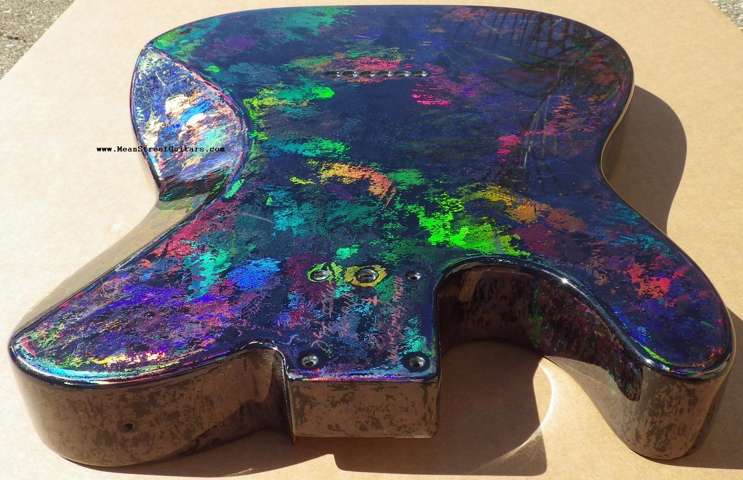 Mean Street Black Fusion Holoflash Telecaster Andrea C pic 11.JPG