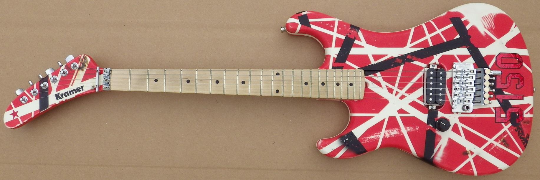 Mean Street paint job over GMW guitar 5150R Juan D pic 1.jpg