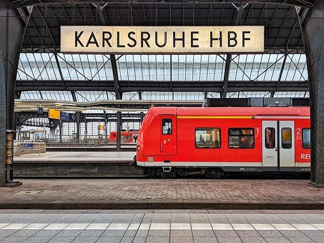 Karlsruhe Hauptbahnhof | c. 1913 🚂 ・・・ #Repost @accidentallywesanderson • The Karlsruhe Hauptbahnhof is a railway station in the German city of Karlsruhe. The station is classified as a Category 1 station, as it is a major hub where several railways connect. • The original station was designed by Friedrich Eisenlohr and it was opened on April 1st 1843 with two platforms. From the beginning, it was designed as a 'through station'. South of the station was a locomotive depot and to its east there was a freight yard and a central workshop. • Increased rail traffic and the resulting frequent closures of the level crossings disrupted the ever-growing city and made its expansion more difficult. The Baden parliament decided in 1902 to relocate the station to a site one kilometre south of the existing site. The new station building, which continues in use today, was built between 1910 and 1913. • The station was damaged by bombing, during WWII, but was later rebuilt. The period after 1950 was characterised by a continuous modernisation of the station, and the electrification of the railway was completed in 1957. • About 10 years later, the rebuilding of the station forecourt began. A pedestrian underpass was constructed and the car and tram traffic were reorganized. In 1977, a new interlocking controlled by pushing buttons was put into operation. • Today, the station is served by 130 long-distance trains - mainly ICEs and ICs on the Rhine route and TGV POS trains between Paris and Stuttgart - 133 regional trains and 121 S-Bahn trains each day. • 📷: @zieglemt ✍: @wikipedia • #AccidentallyWesAnderson #WesAnderson #VscoArchitecture #Vsco #TGV #AccidentalWesAnderson #Travelmore #SBahn #Karlsruhe #Germany #KarlsruheHauptbahnhof #DeutscheBahn #TrainStation