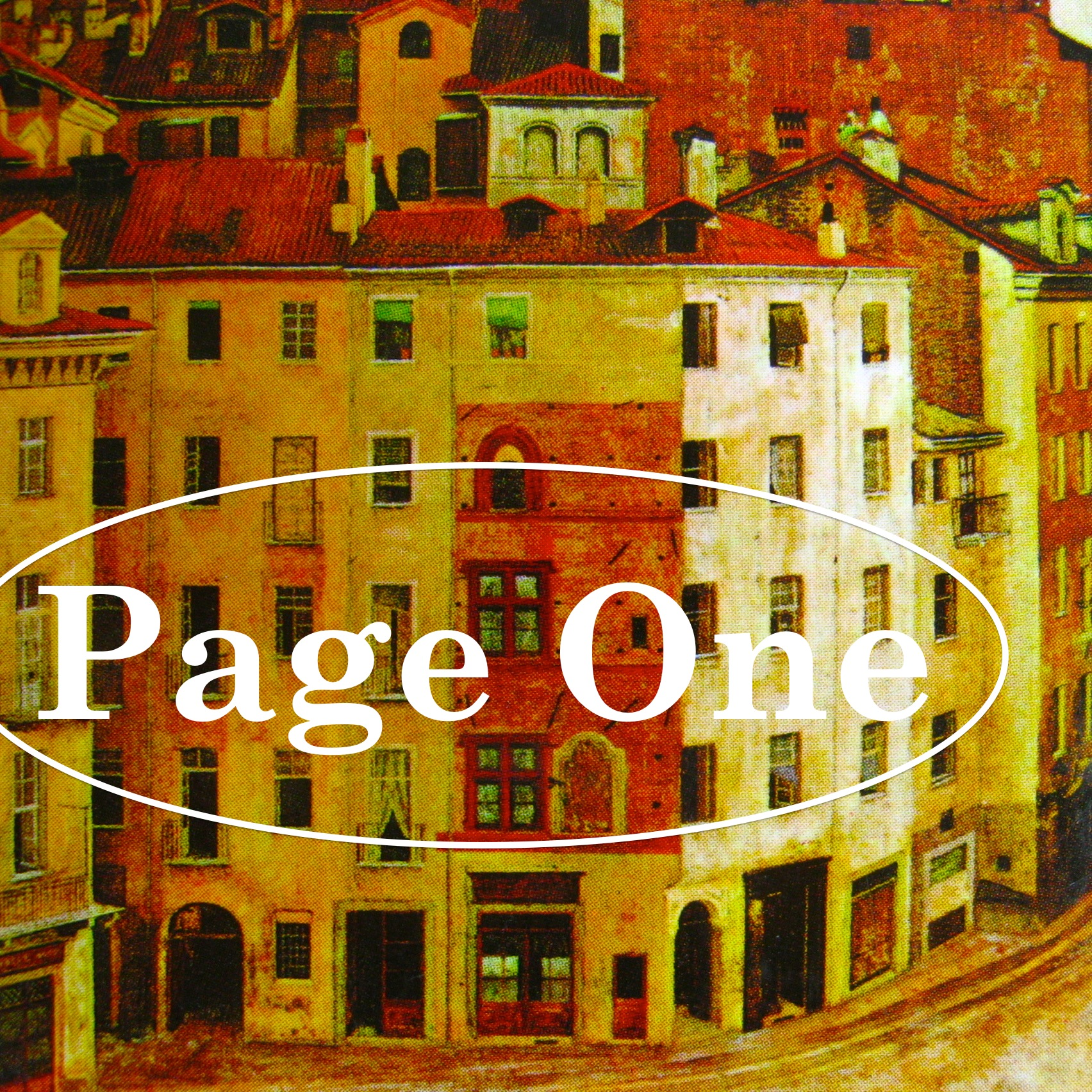 Episode image is a detail from the cover of  Lessico Famigliare  by Natalia Ginzburg, published in 1997 by Einaudi Scuola; cover image:  Antiche case di Torino  (part.) by Francesco Garrone.