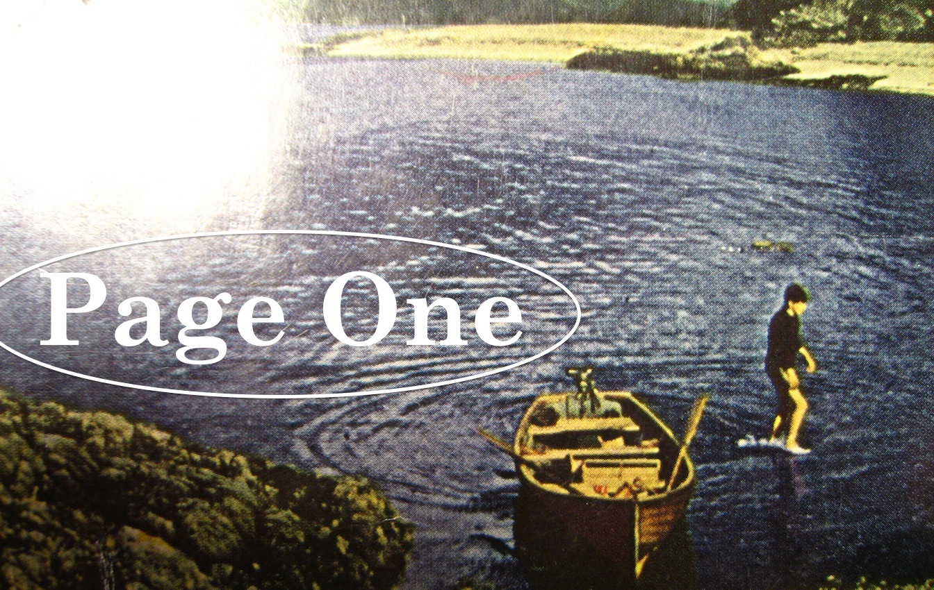 Episode image is a detail from the cover of Ring Of Bright Water by Gavin Maxwell, published in 1961 by Longmans; cover photograph is 'A bay near Camusfeàrna' by Gavin Maxwell.