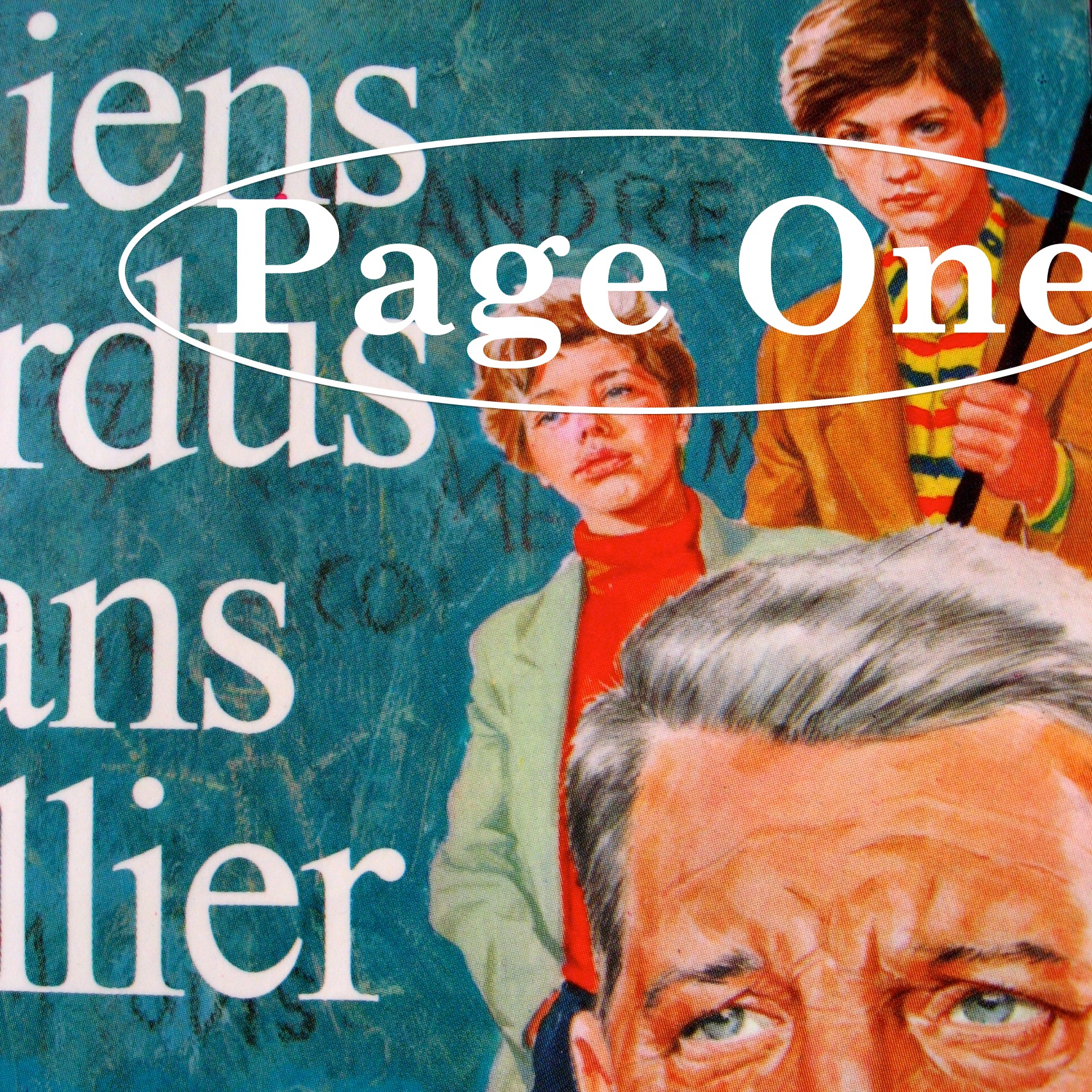 Episode image is a detail from the cover of Chiens Perdus Sans Collier by Gilbert Cesbrun, published in 1954 by Éditions J'ai Lu; cover illustration is by G. Benvenuti based on stills from the Pathé film.