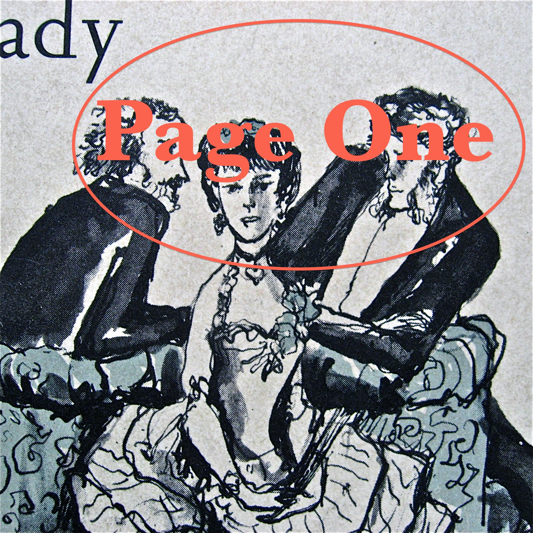Episode image is a detail from the cover of Portrait Of A Lady by Henry James, published in 1983 by Penguin Books; cover illustration by Philippe Jullian.