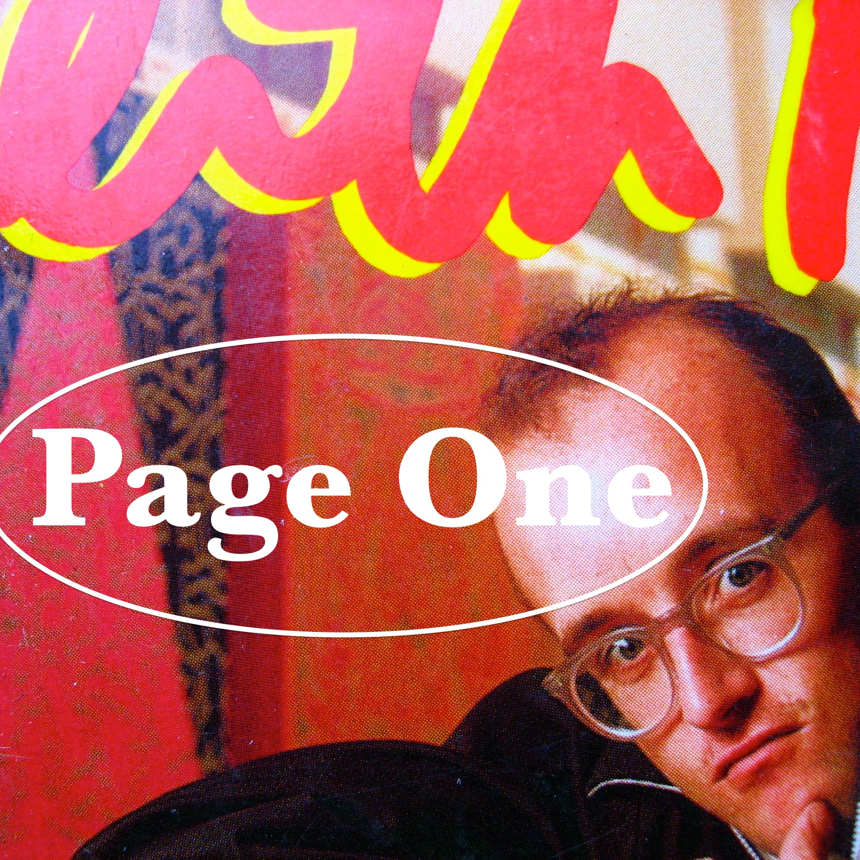 Episode image is a detail from the cover of  Keith Haring, The Authorised Biography  by John Gruen, published in 1992 by Simon & Schuster; cover design by Patricia Fabricant; cover photograph by William Coupon.