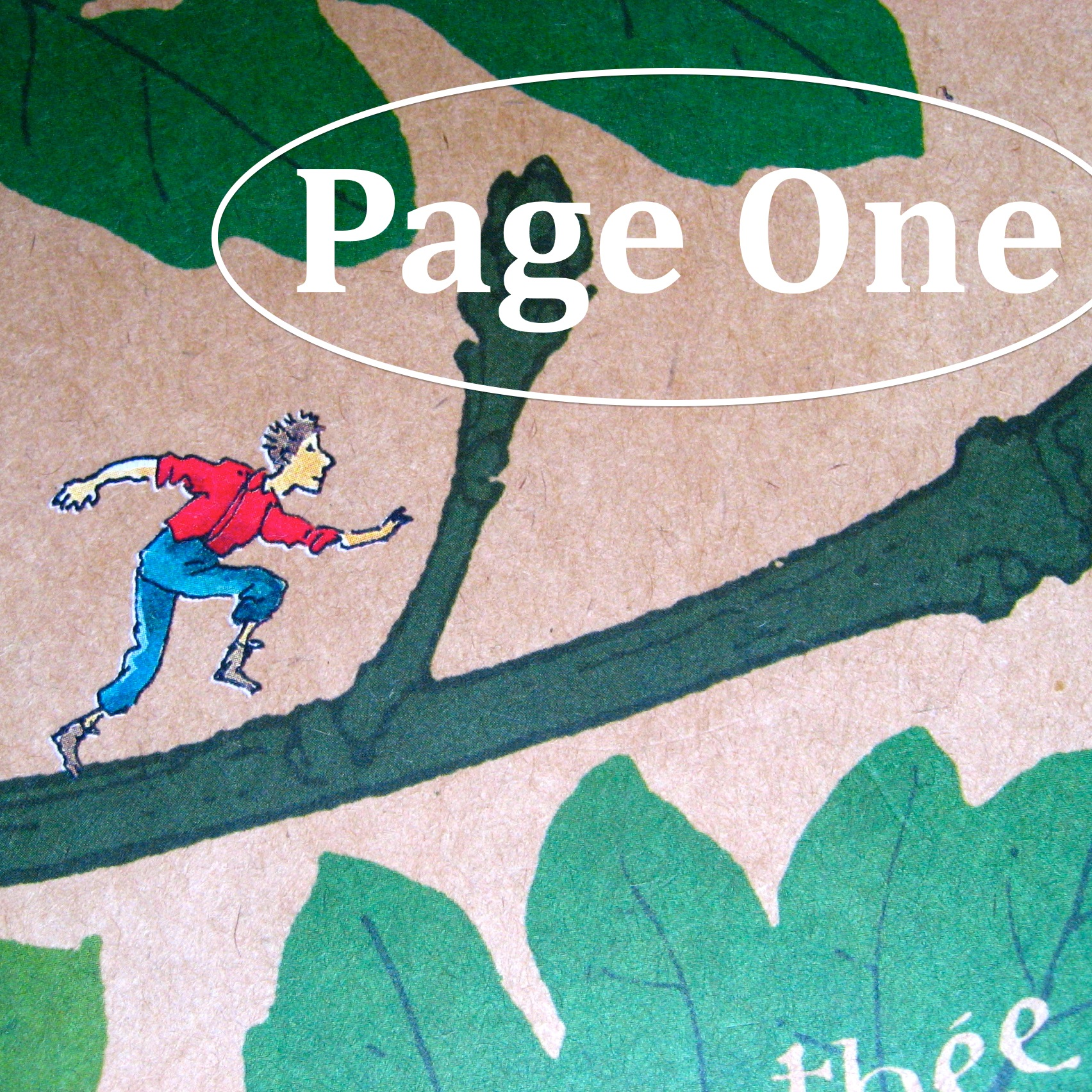 Episode image is a detail from the cover of Toby Alone by Timothée de Fombelle, published in 2008 by Walker Books; jacket illustration by François Place.