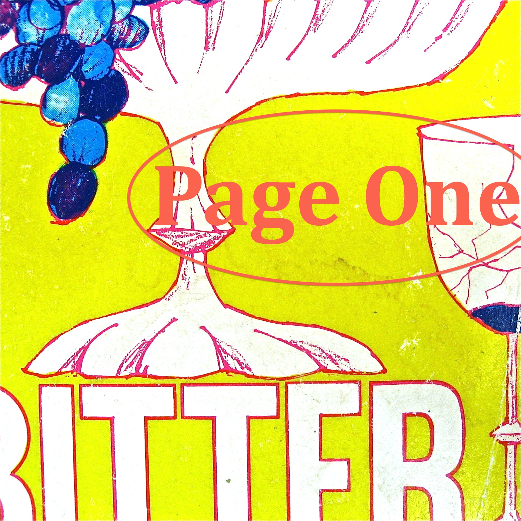 Episode image is a detail from the cover of Bitter Lemons by Lawrence Durrell, published by Dutton; cover illustration by John Alcorn.
