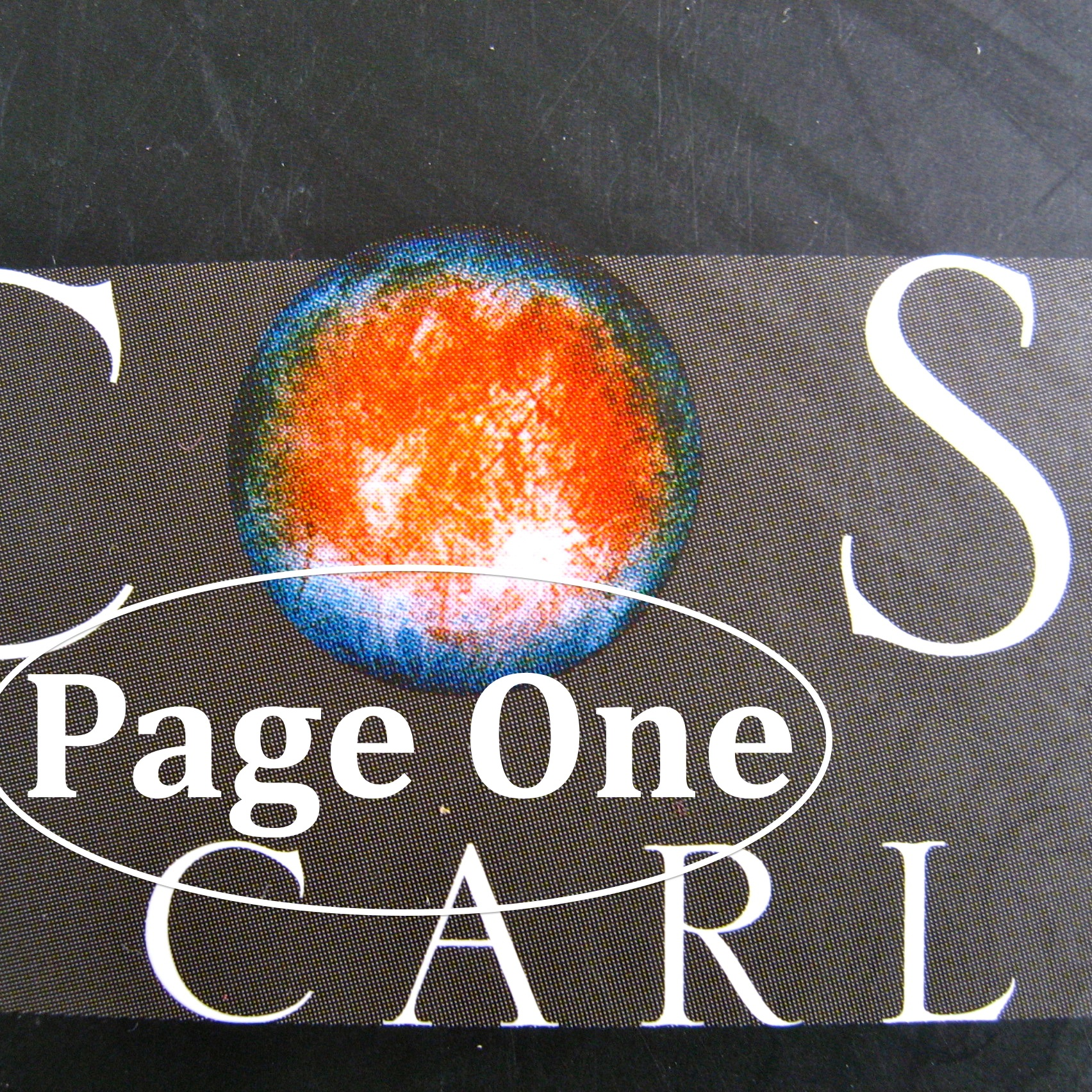 Episode image is a detail from the cover of Cosmos by Carl Sagan, published in 2012 by Abacus; cover photography: © Science Photo Library; cover design: Keenan.