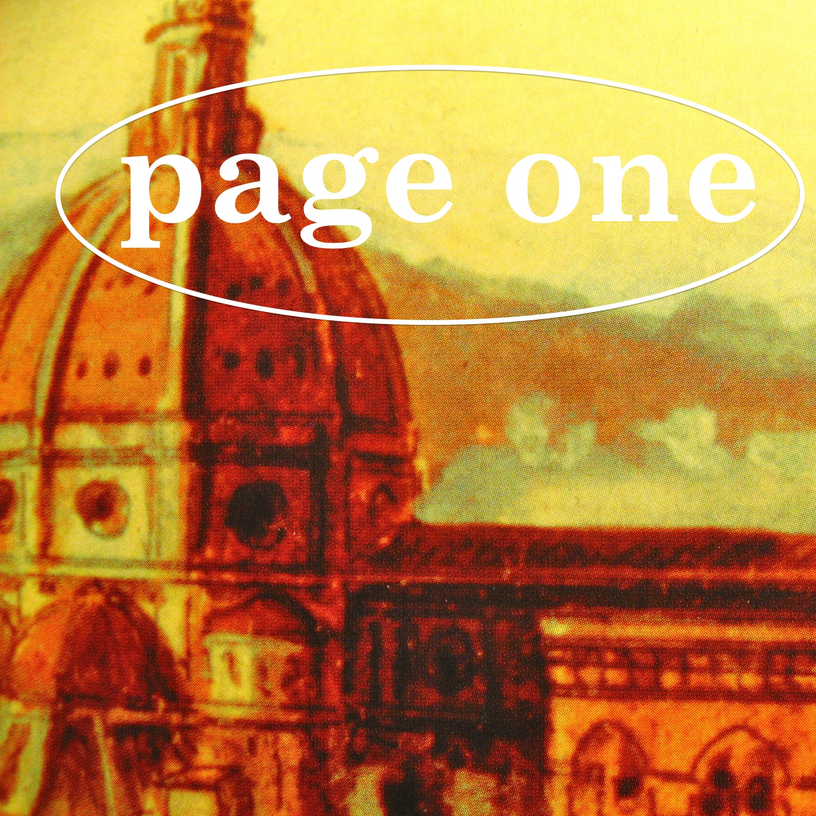 Episode image is a detail from the cover of Brunelleschi's Dome by Ross King, published in 2001 by Penguin Books; cover design by Gabriele Wilson; front cover image: anonymous, View of Florence from the Boboli Gardens, eighteenth century, Museo di Firenzi com'era, Florence, Italy, Scala/Art Resource.