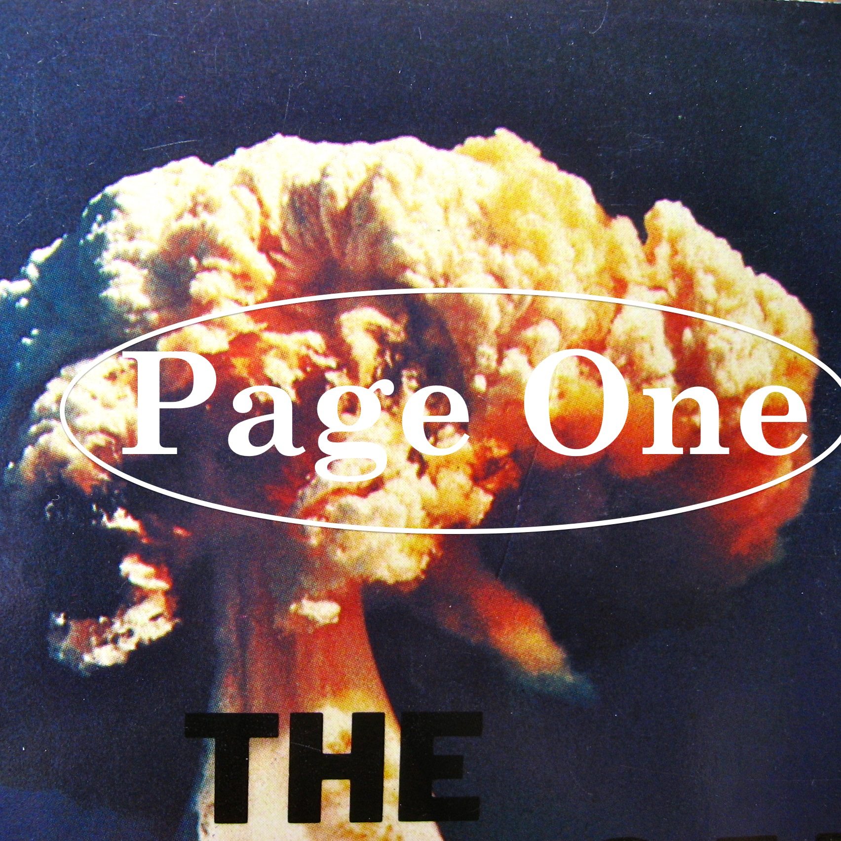 Episode image is a detail from the cover of The Church And The Bomb by anon., pubished in Hodder & Stoughton in 1982.