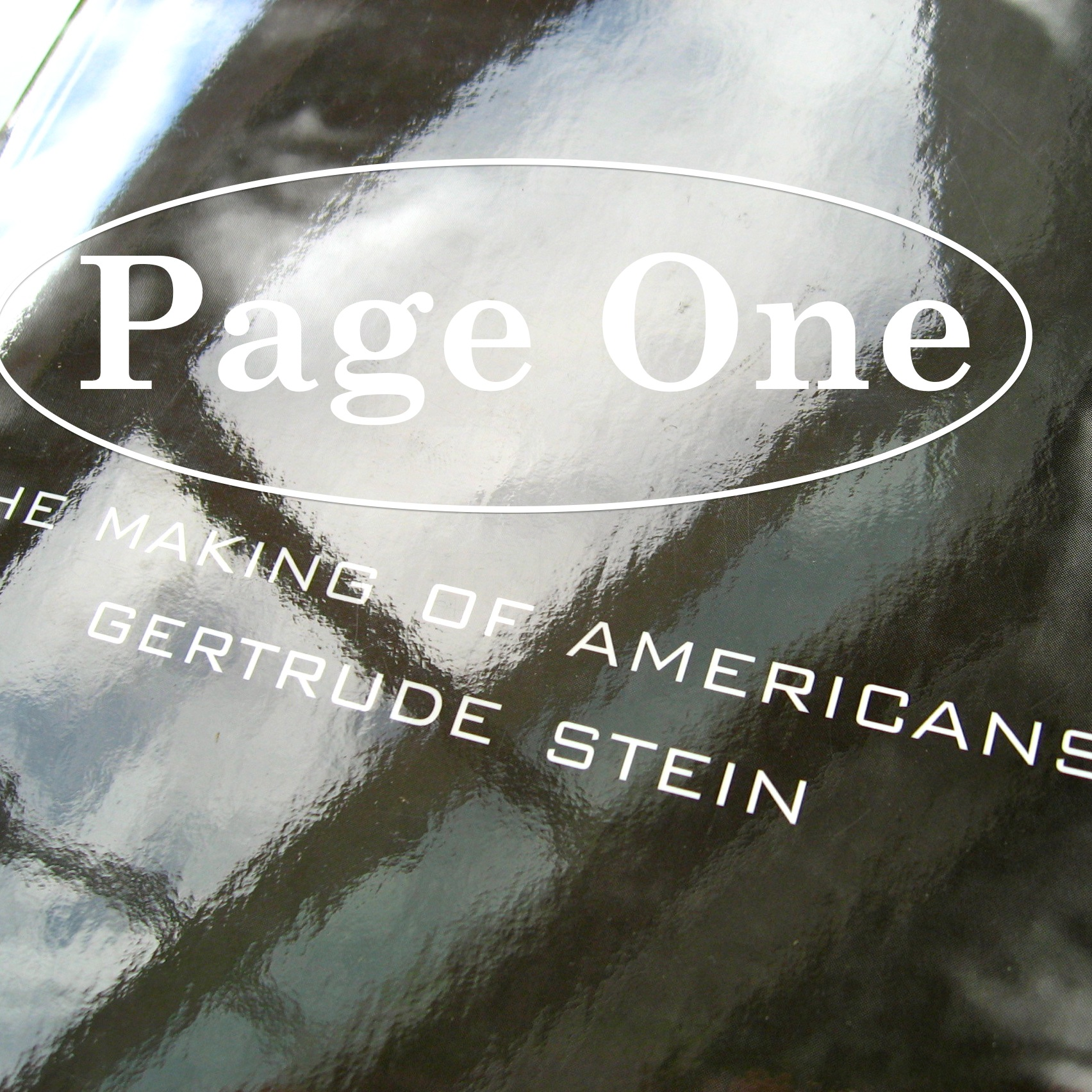 Episode image is a detail from the cover of The Making Of Americans by Gertrude Stein, published in 2006 by Dalkey Archive Press.