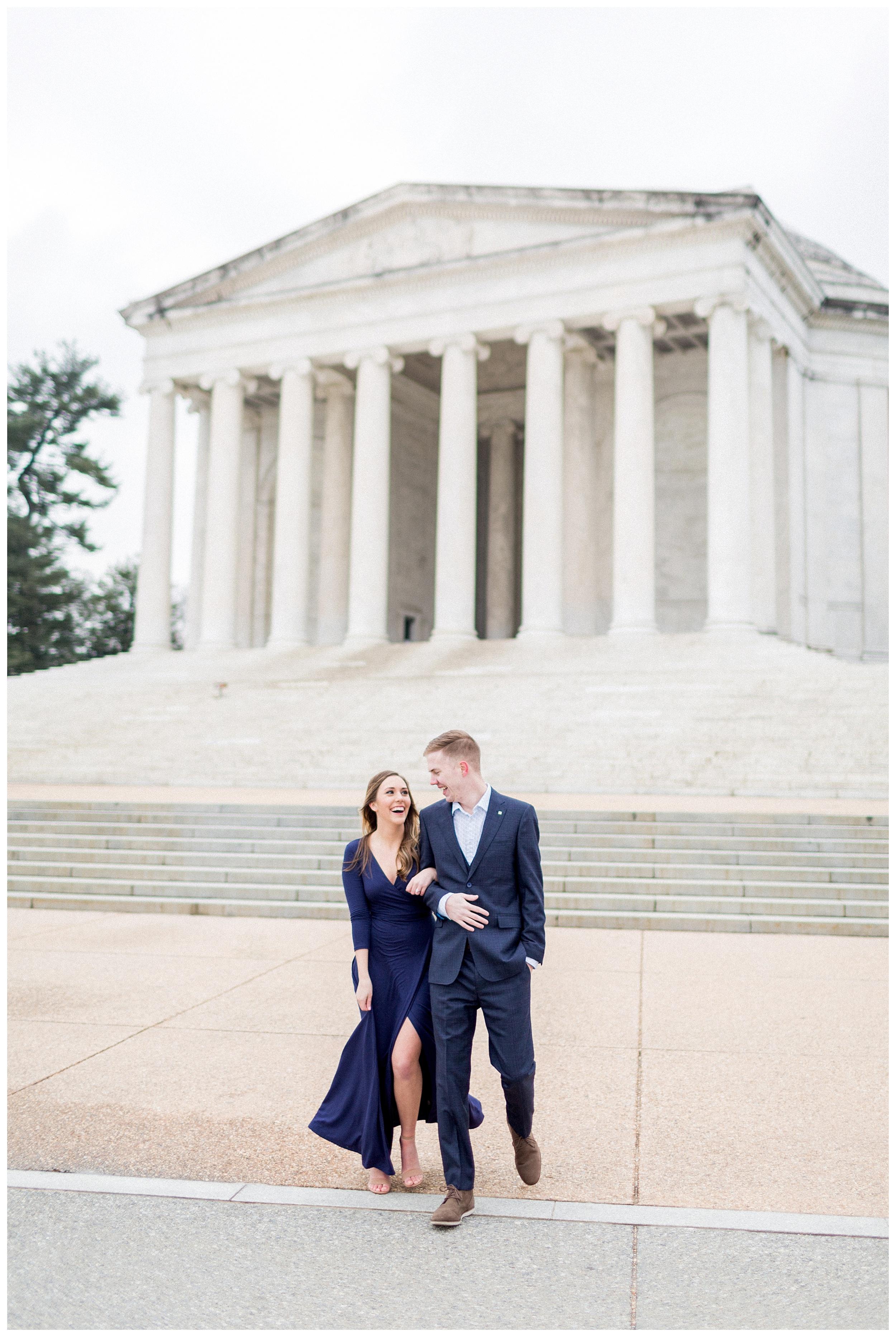 Washingon DC Engagement Photos | Jefferson Memorial Engagement | Kir Tuben_0000.jpg