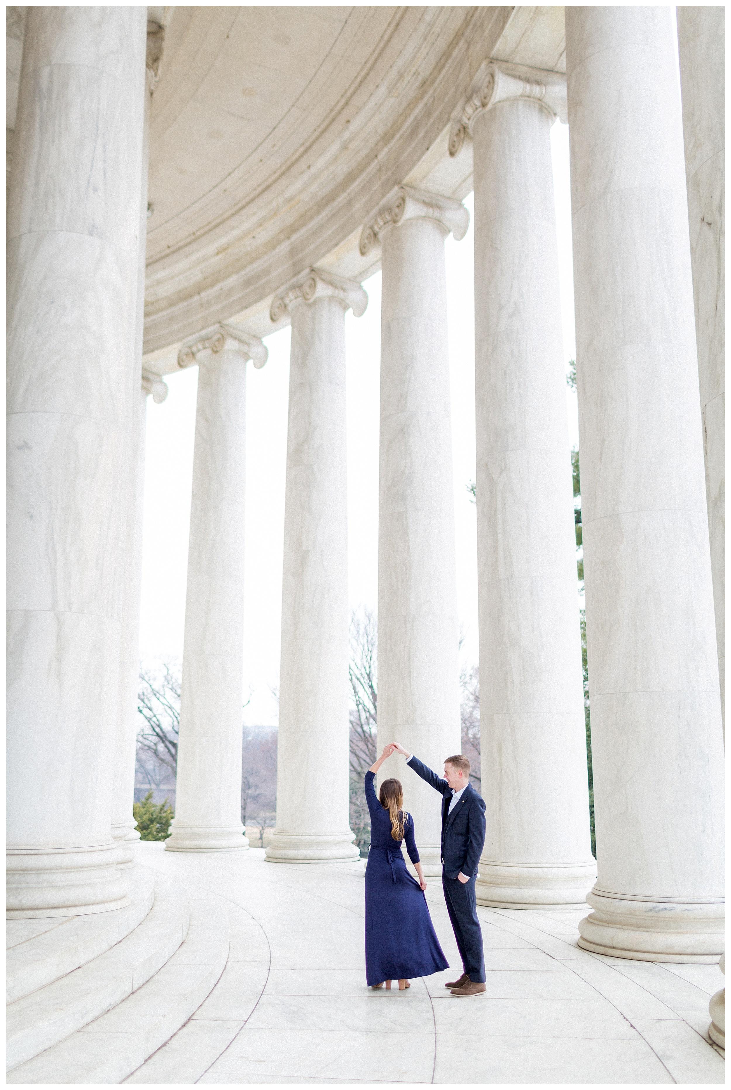 Washingon DC Engagement Photos | Jefferson Memorial Engagement | Kir Tuben_0001.jpg