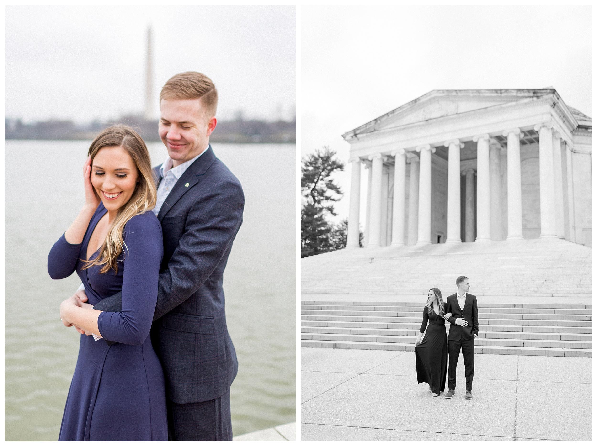 Washingon DC Engagement Photos | Jefferson Memorial Engagement | Kir Tuben_0002.jpg