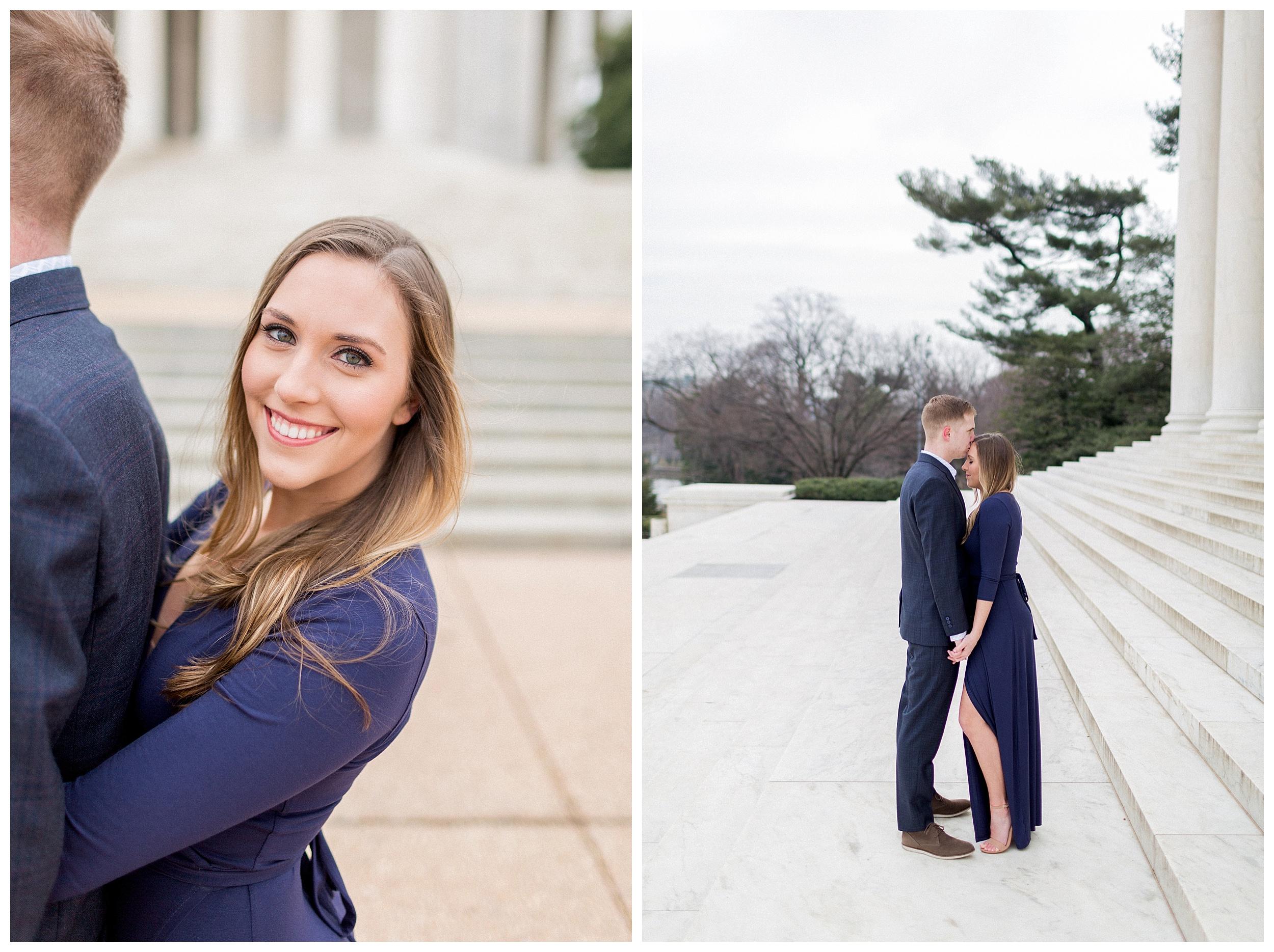 Washingon DC Engagement Photos | Jefferson Memorial Engagement | Kir Tuben_0004.jpg