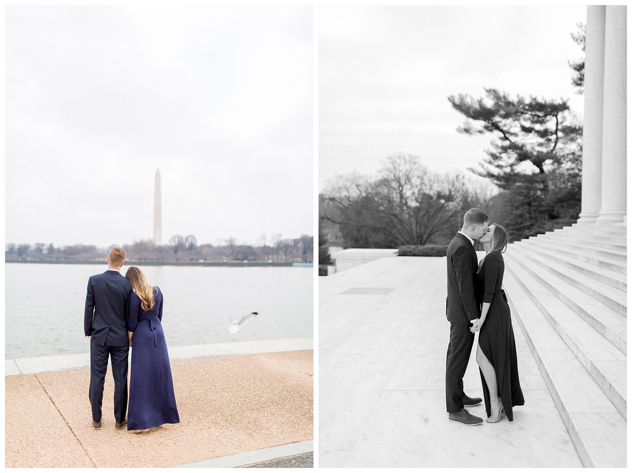 Washingon DC Engagement Photos | Jefferson Memorial Engagement | Kir Tuben_0007.jpg