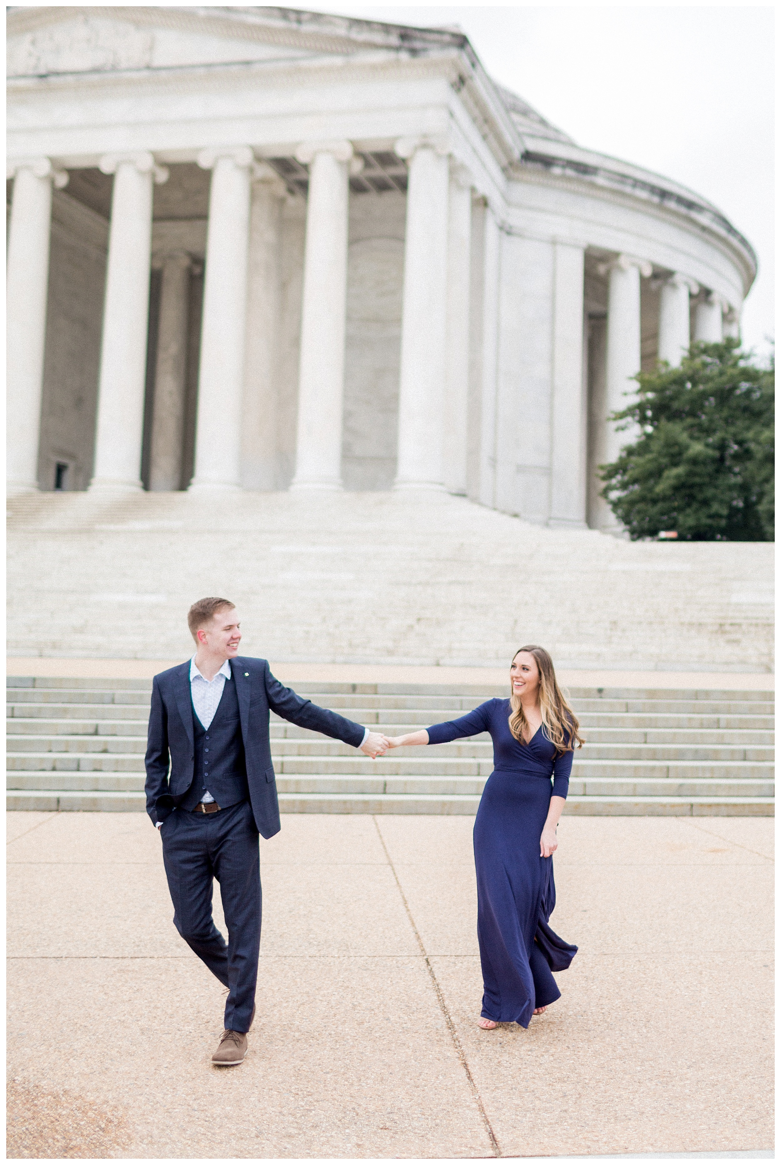 Washingon DC Engagement Photos | Jefferson Memorial Engagement | Kir Tuben_0008.jpg