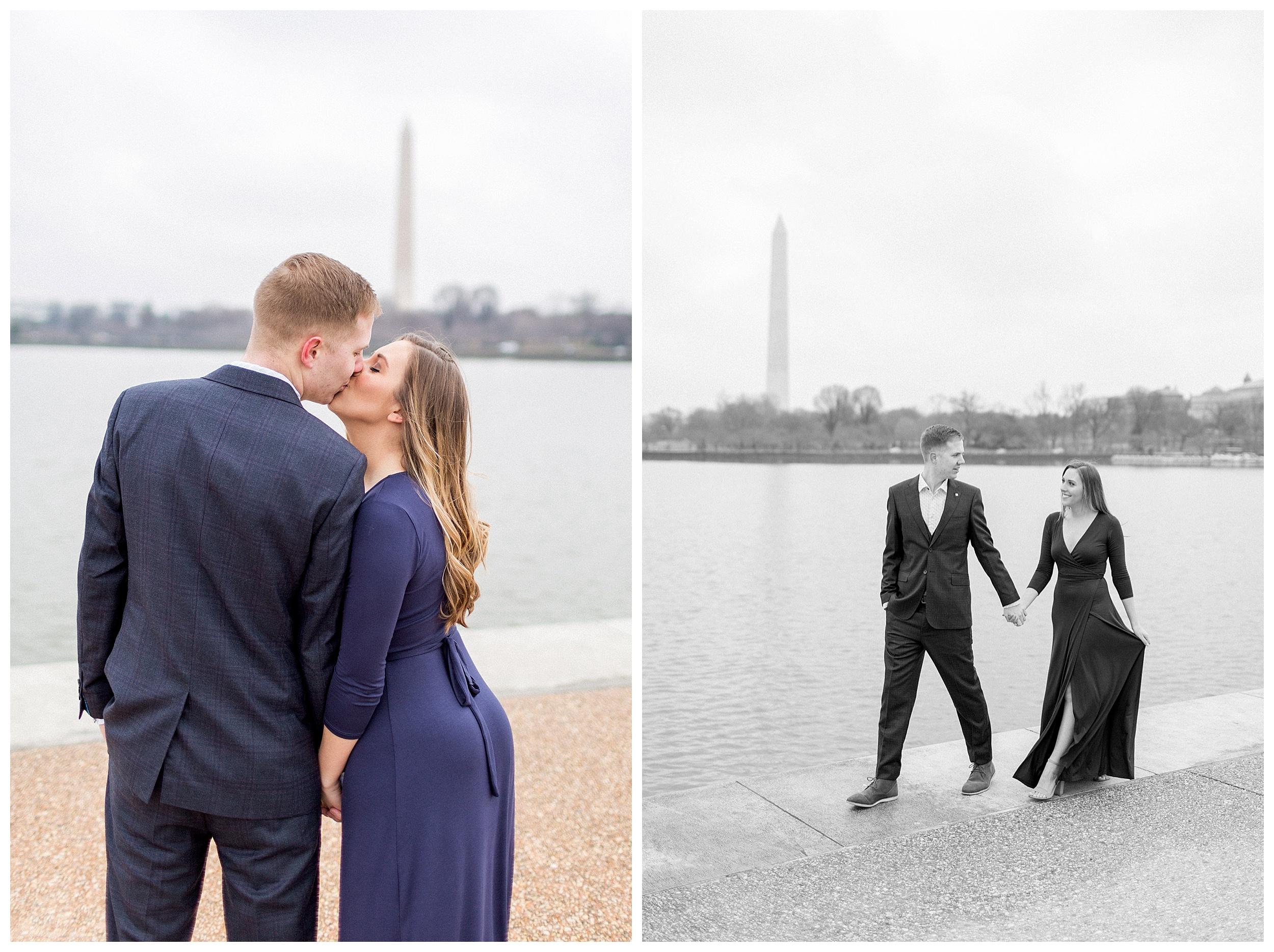 Washingon DC Engagement Photos | Jefferson Memorial Engagement | Kir Tuben_0011.jpg