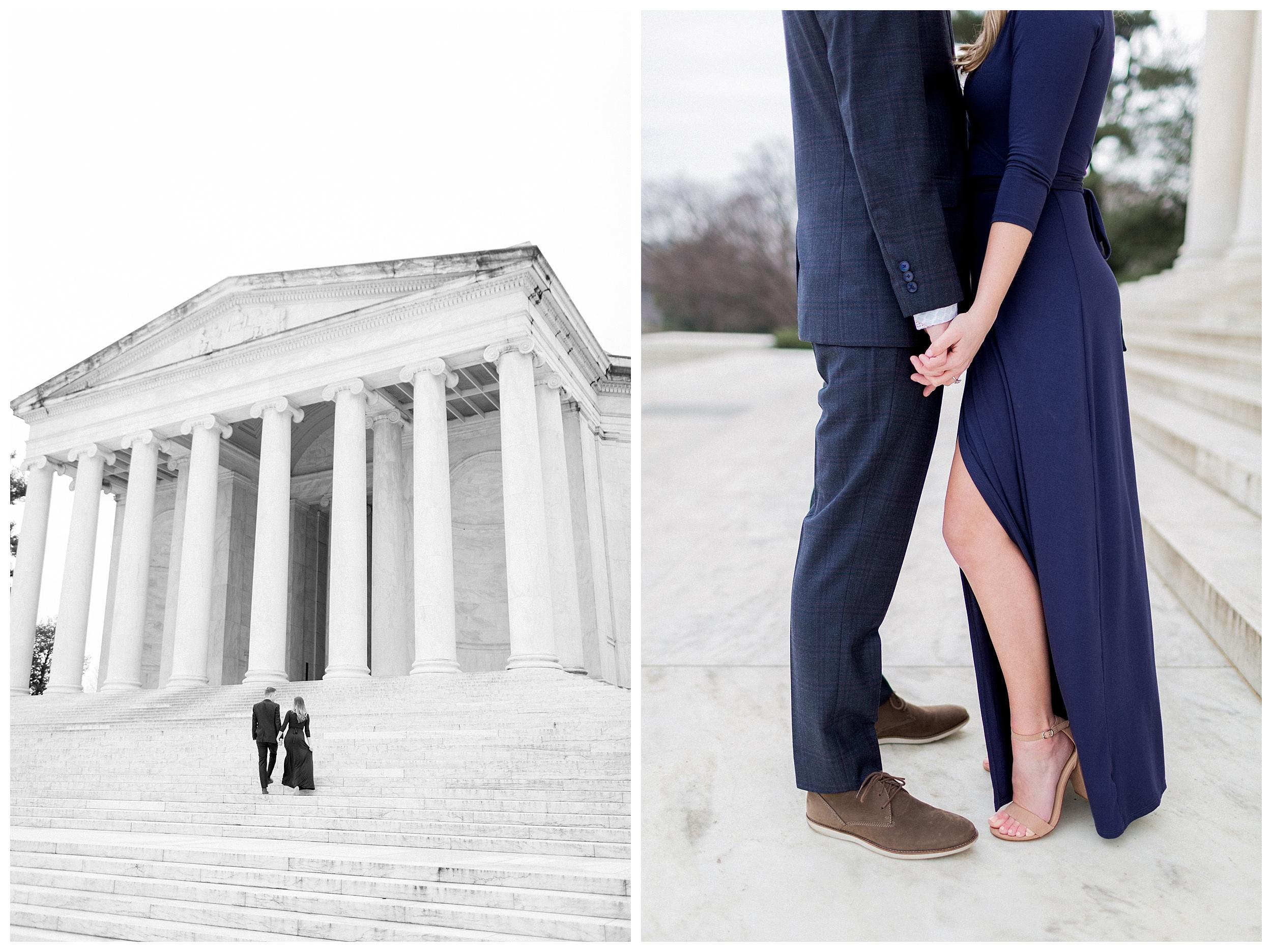Washingon DC Engagement Photos | Jefferson Memorial Engagement | Kir Tuben_0013.jpg