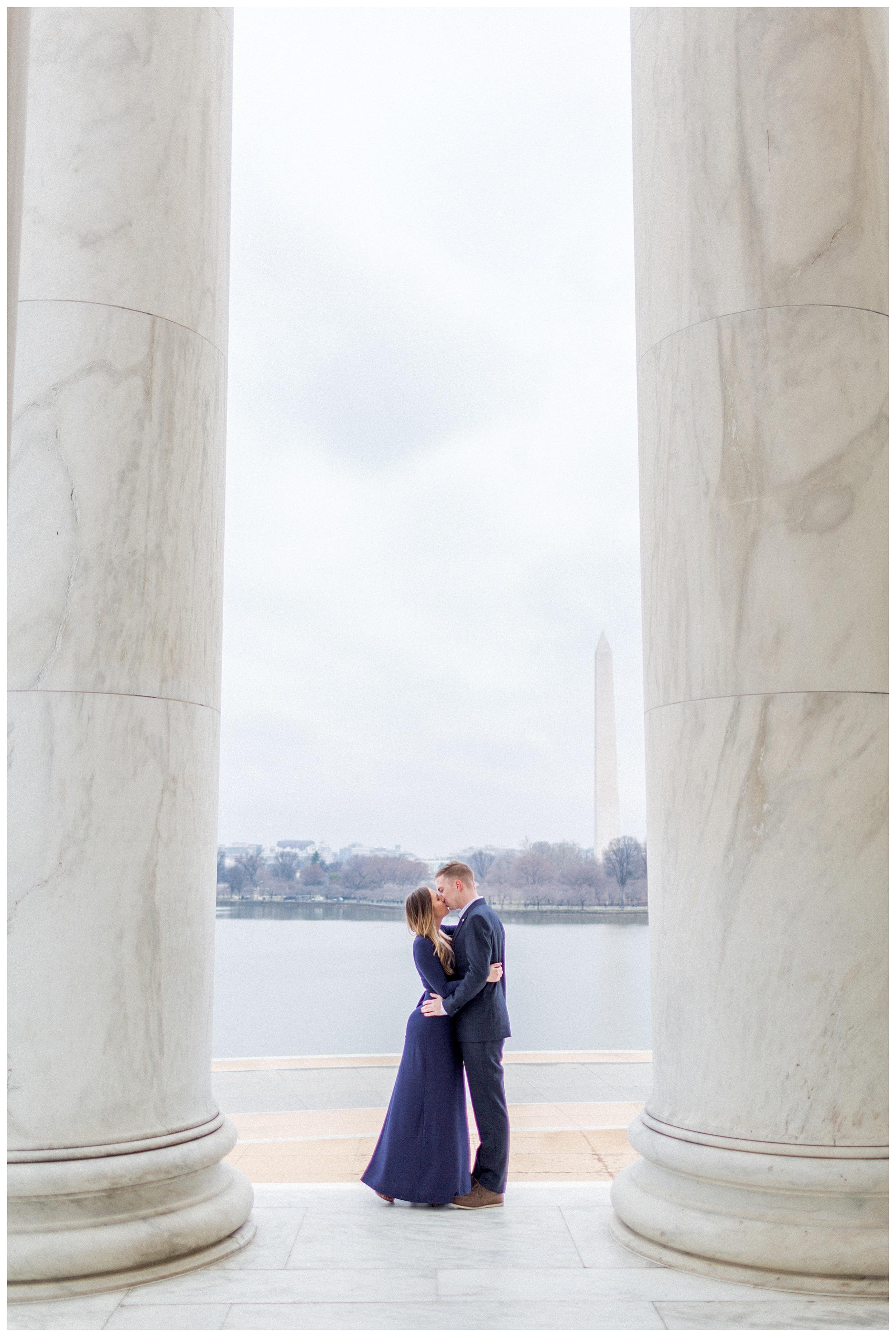 Washingon DC Engagement Photos | Jefferson Memorial Engagement | Kir Tuben_0014.jpg