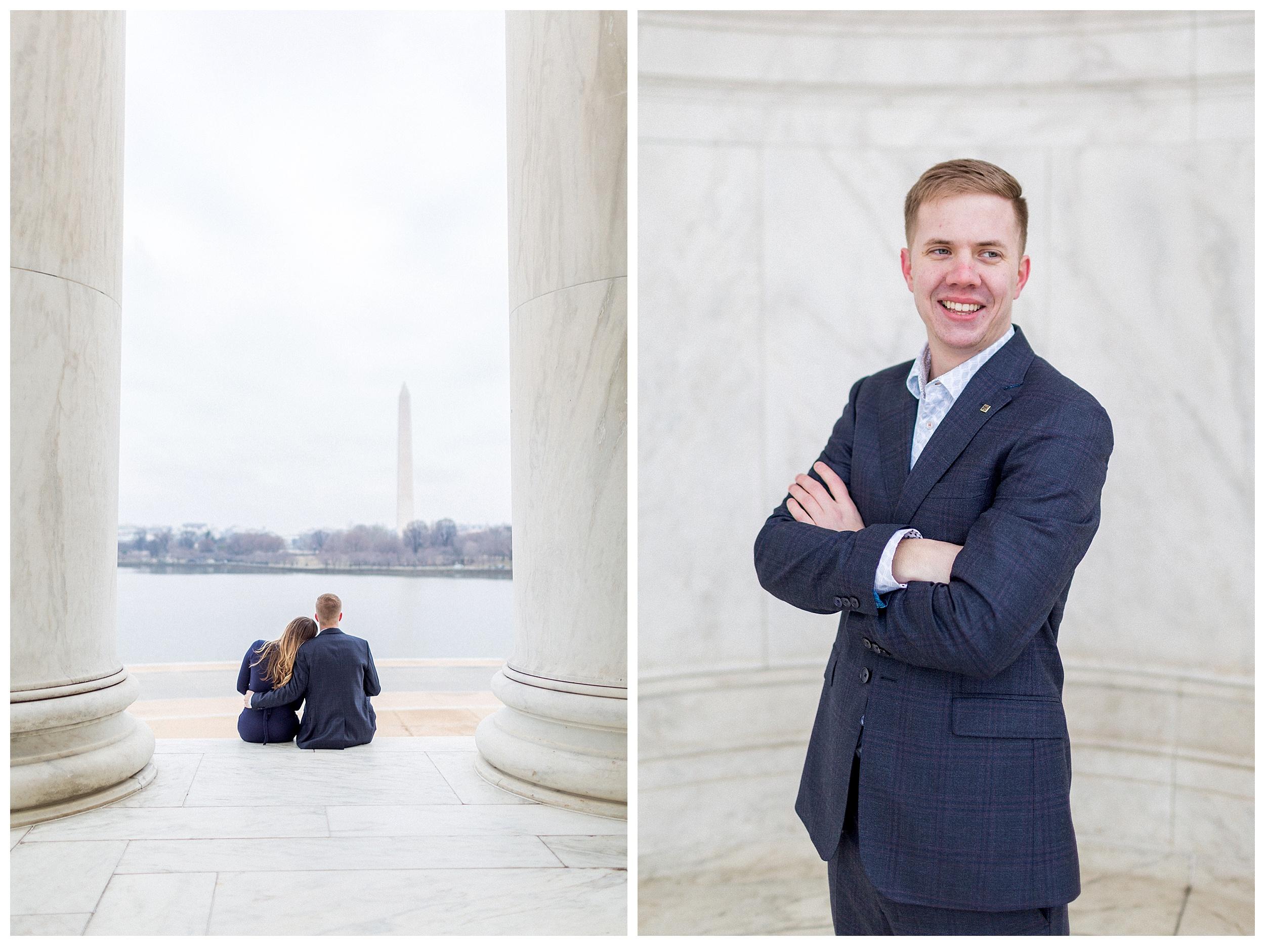 Washingon DC Engagement Photos | Jefferson Memorial Engagement | Kir Tuben_0020.jpg