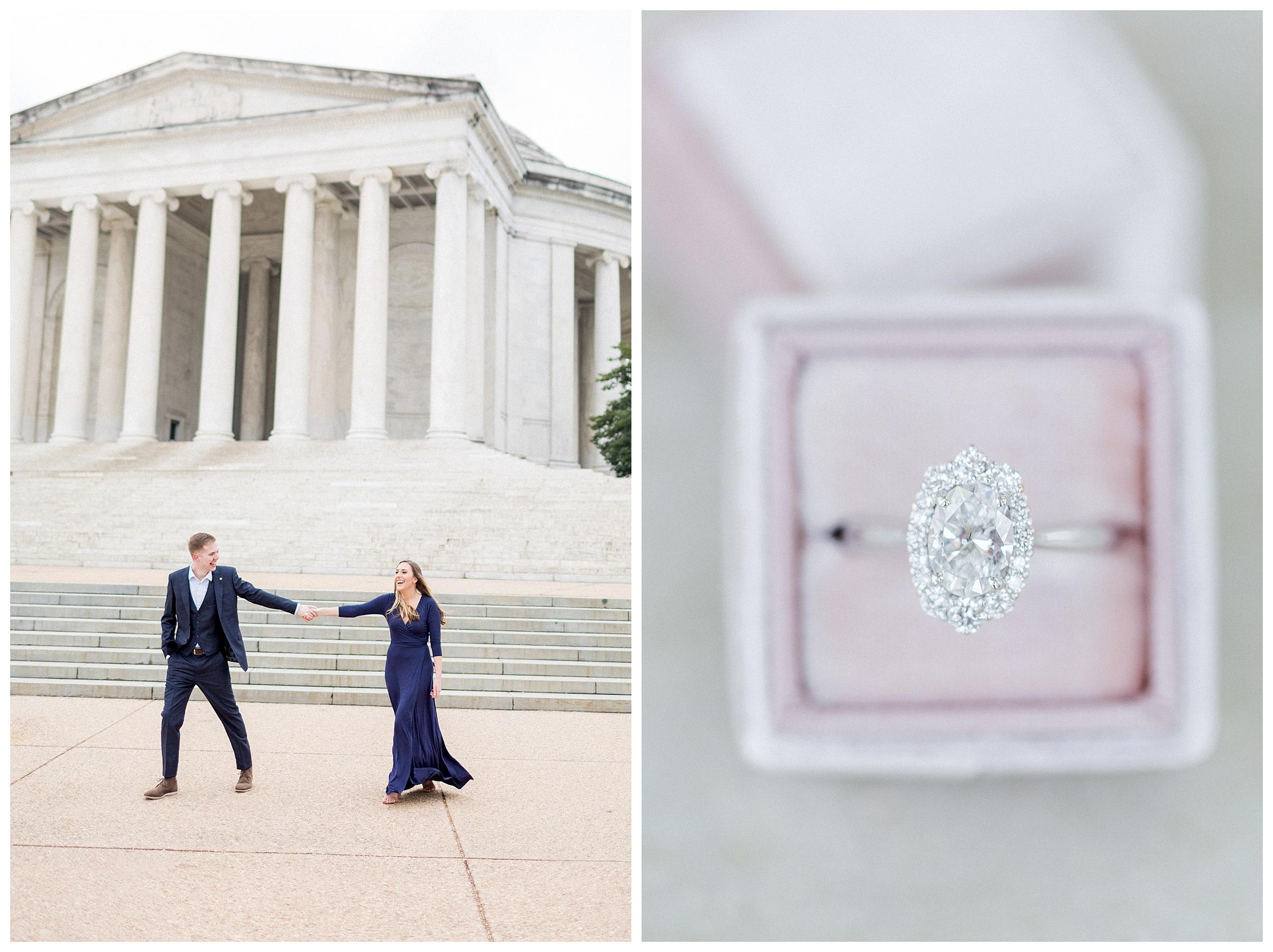Washingon DC Engagement Photos | Jefferson Memorial Engagement | Kir Tuben_0027.jpg