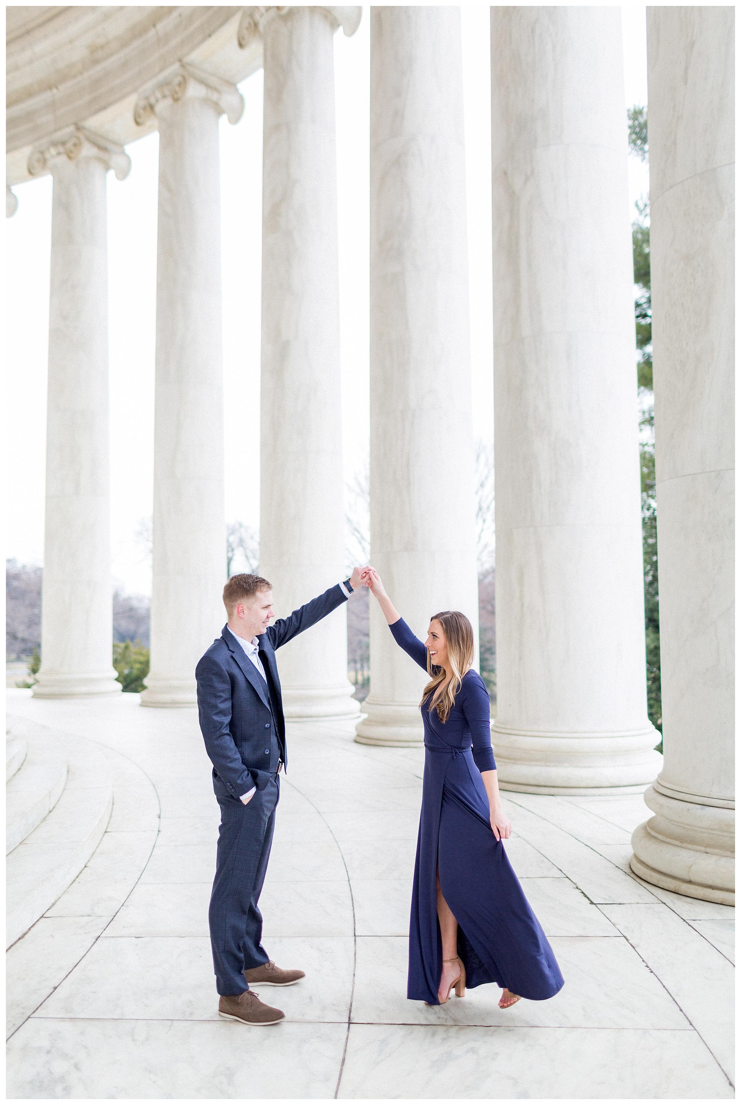 Washingon DC Engagement Photos | Jefferson Memorial Engagement | Kir Tuben_0030.jpg
