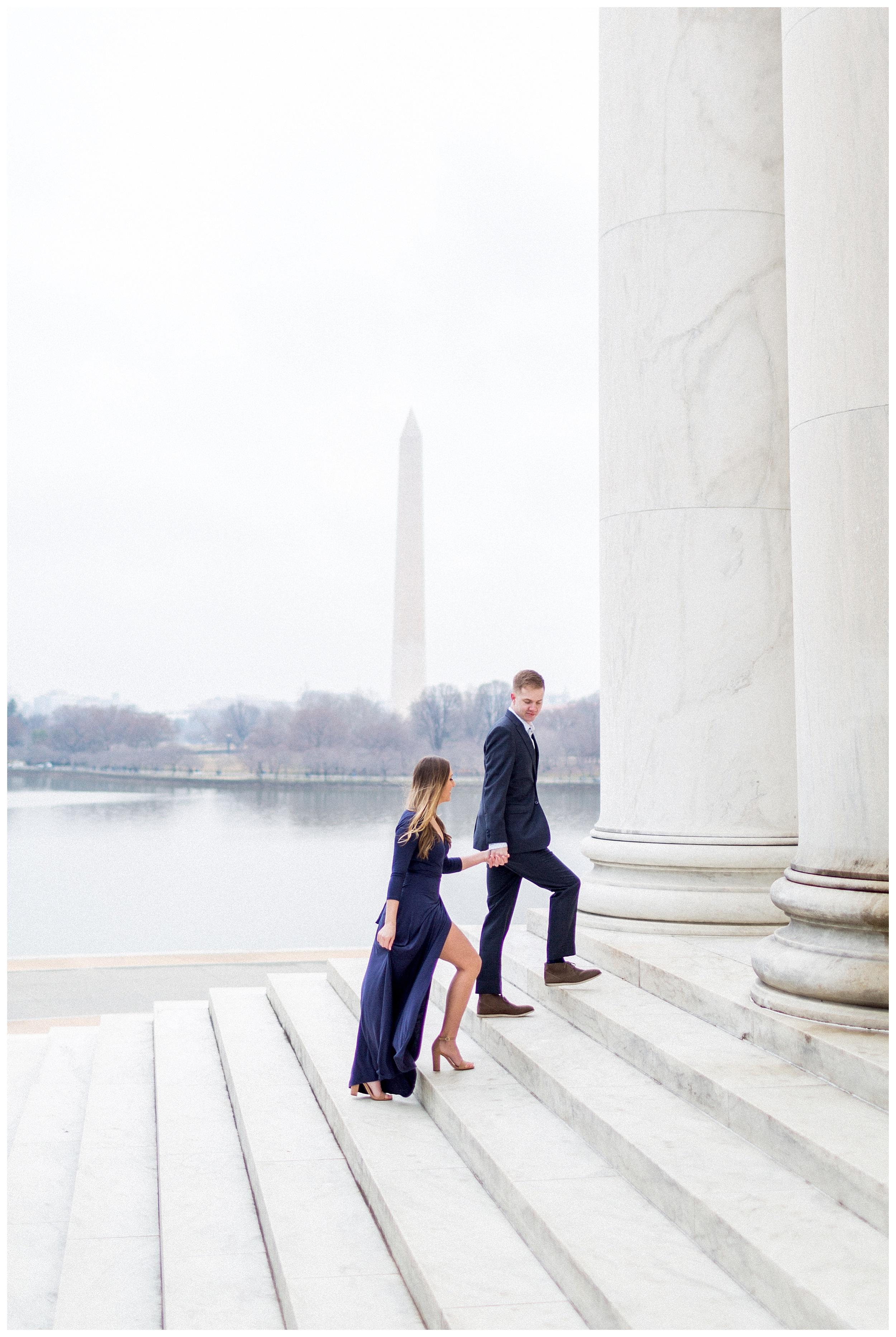 Washingon DC Engagement Photos | Jefferson Memorial Engagement | Kir Tuben_0032.jpg