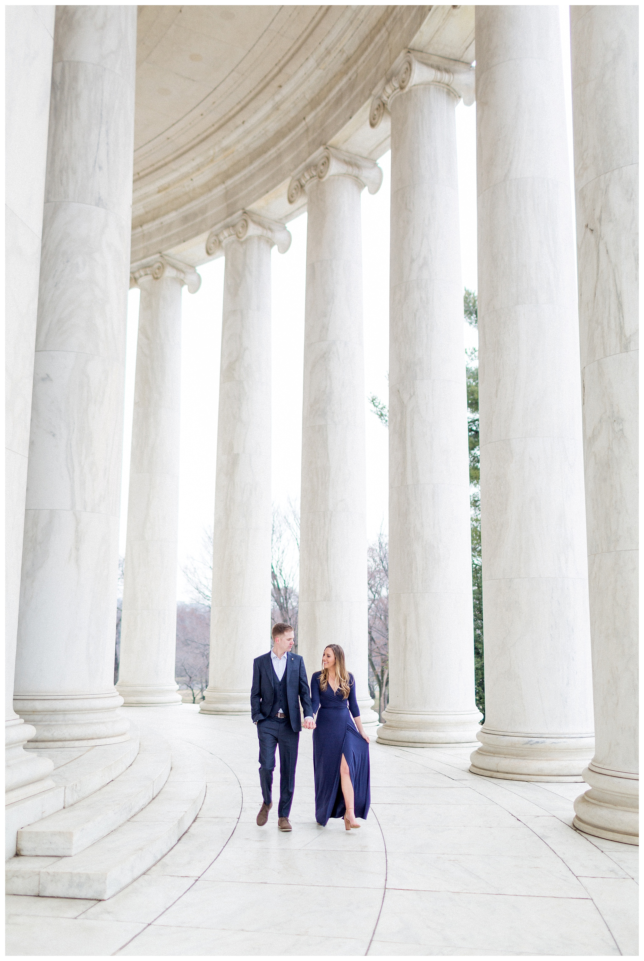 Washingon DC Engagement Photos | Jefferson Memorial Engagement | Kir Tuben_0034.jpg