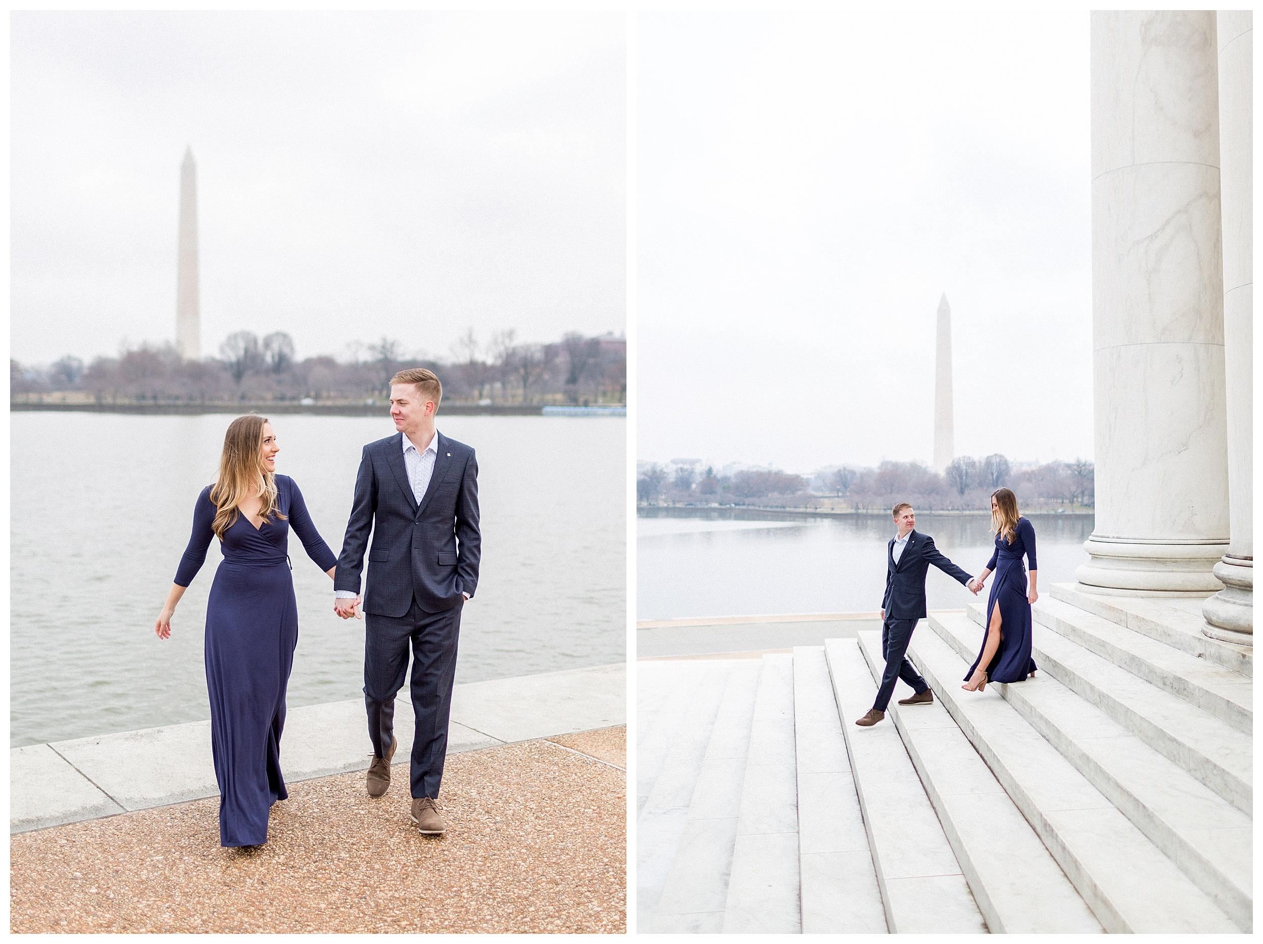 Washingon DC Engagement Photos | Jefferson Memorial Engagement | Kir Tuben_0037.jpg