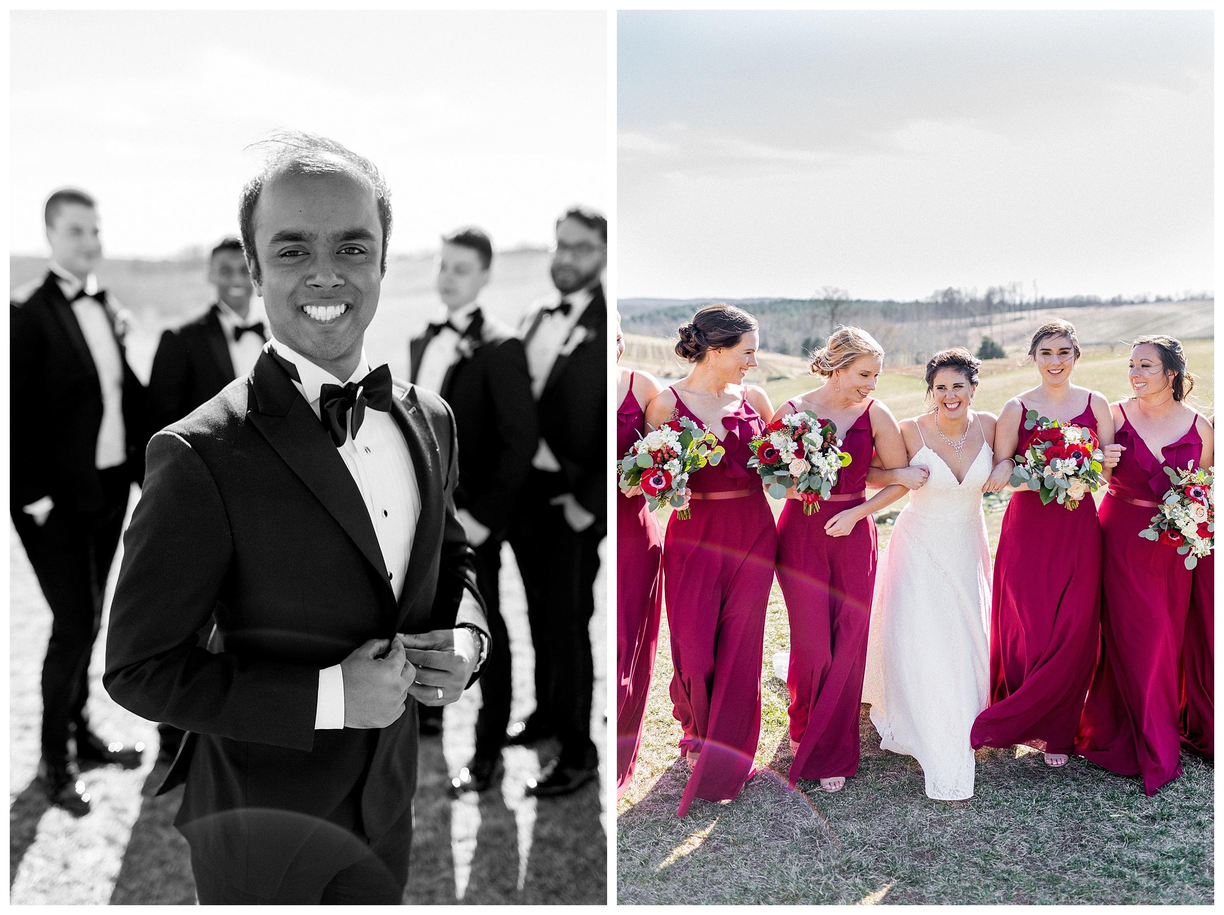 Stone Tower Winery Wedding | Virginia Winter Wedding | VA Wedding Photographer Kir Tuben_0064.jpg