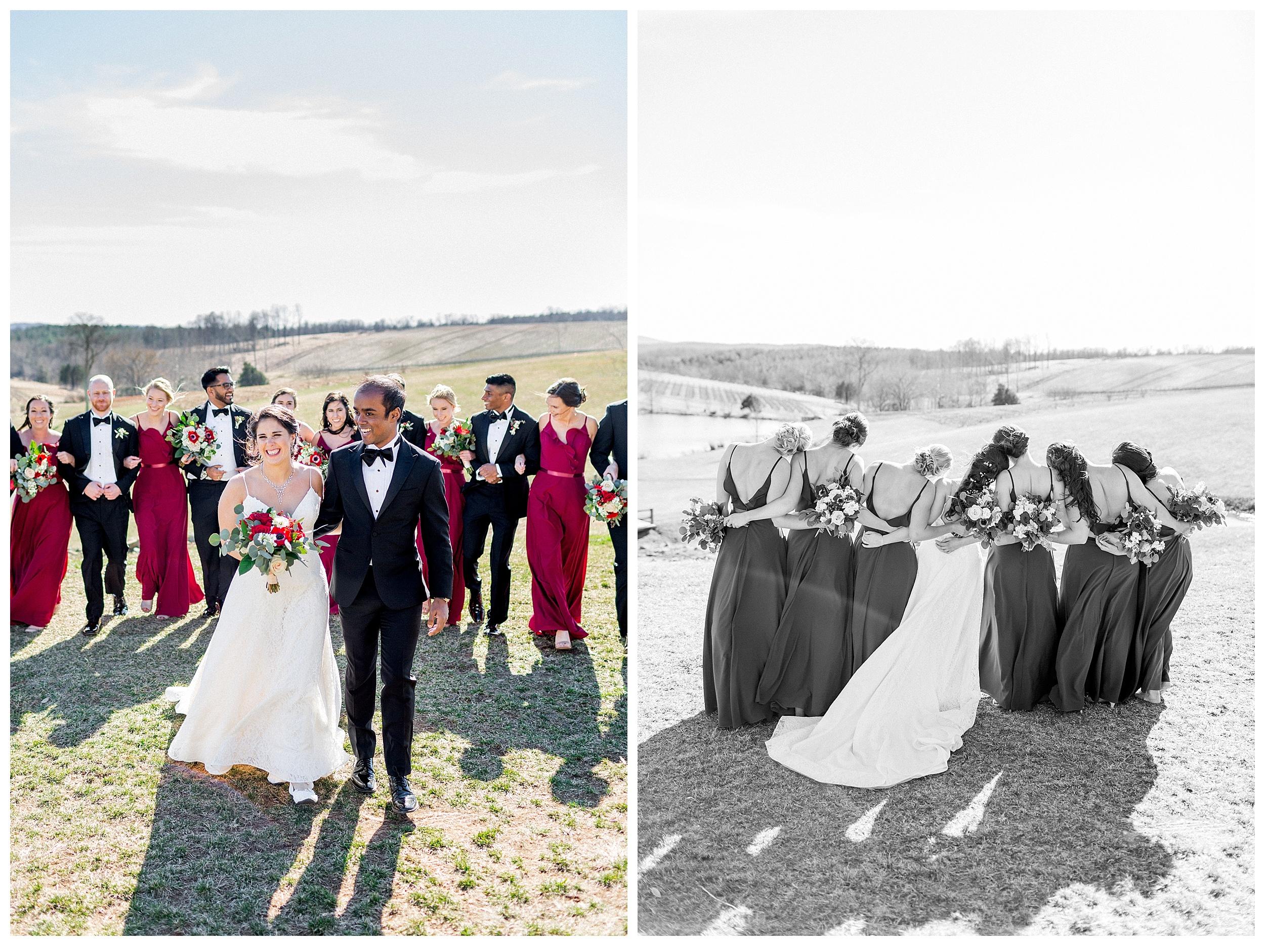 Stone Tower Winery Wedding | Virginia Winter Wedding | VA Wedding Photographer Kir Tuben_0077.jpg