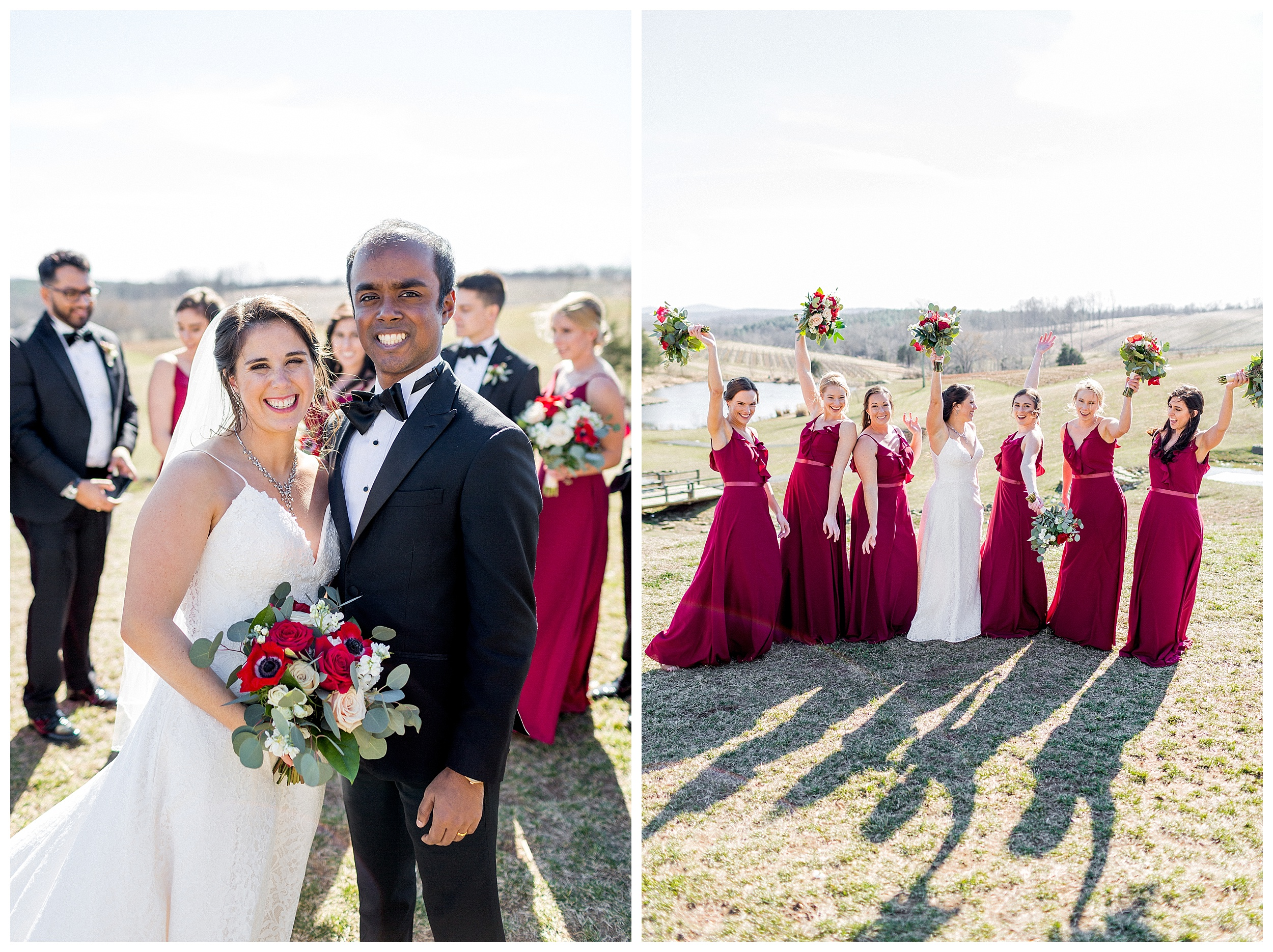 Stone Tower Winery Wedding | Virginia Winter Wedding | VA Wedding Photographer Kir Tuben_0079.jpg