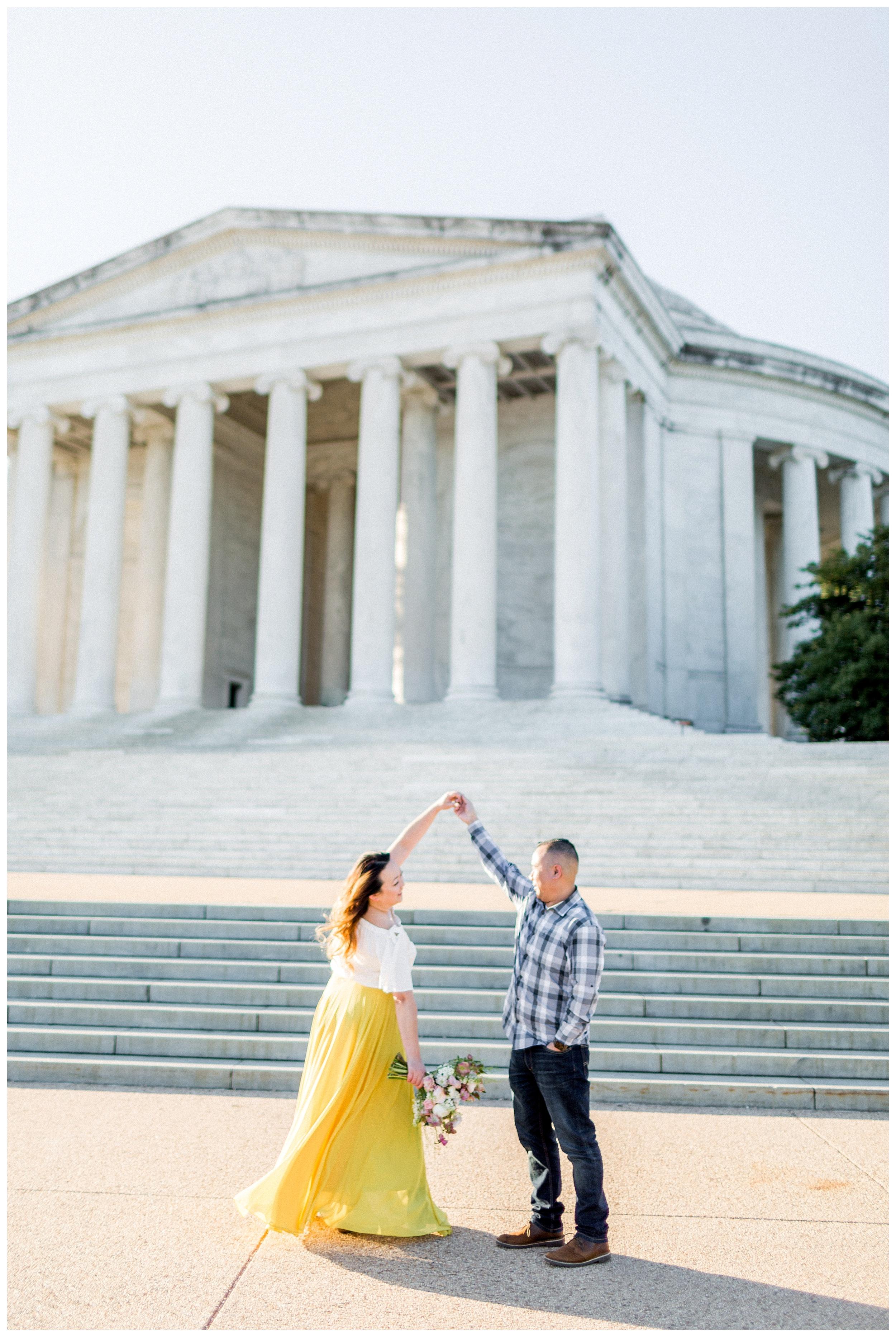 Washington DC Engagement Photos | Thomas Jefferson Engagement Session_0009.jpg
