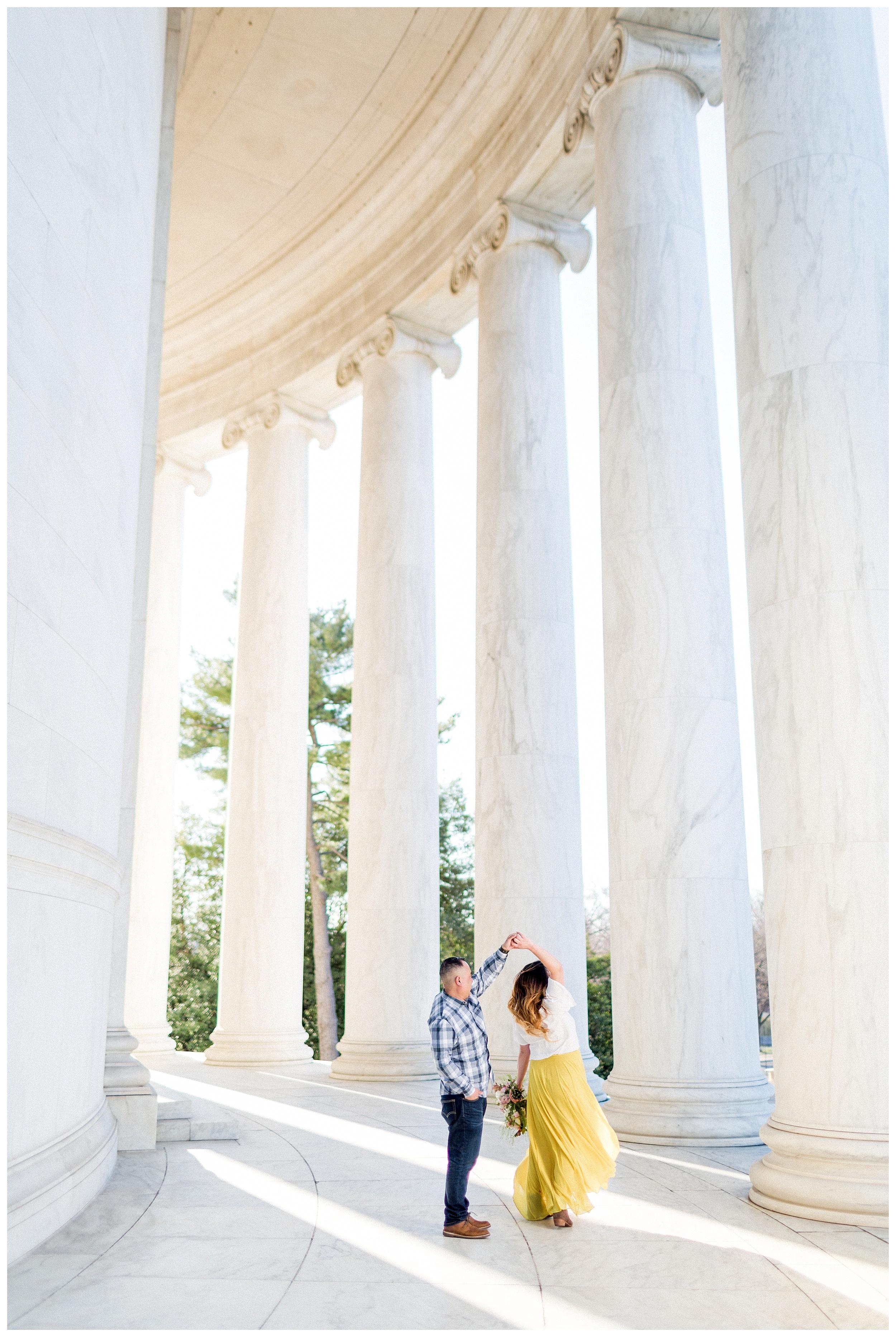 Washington DC Engagement Photos | Thomas Jefferson Engagement Session_0017.jpg