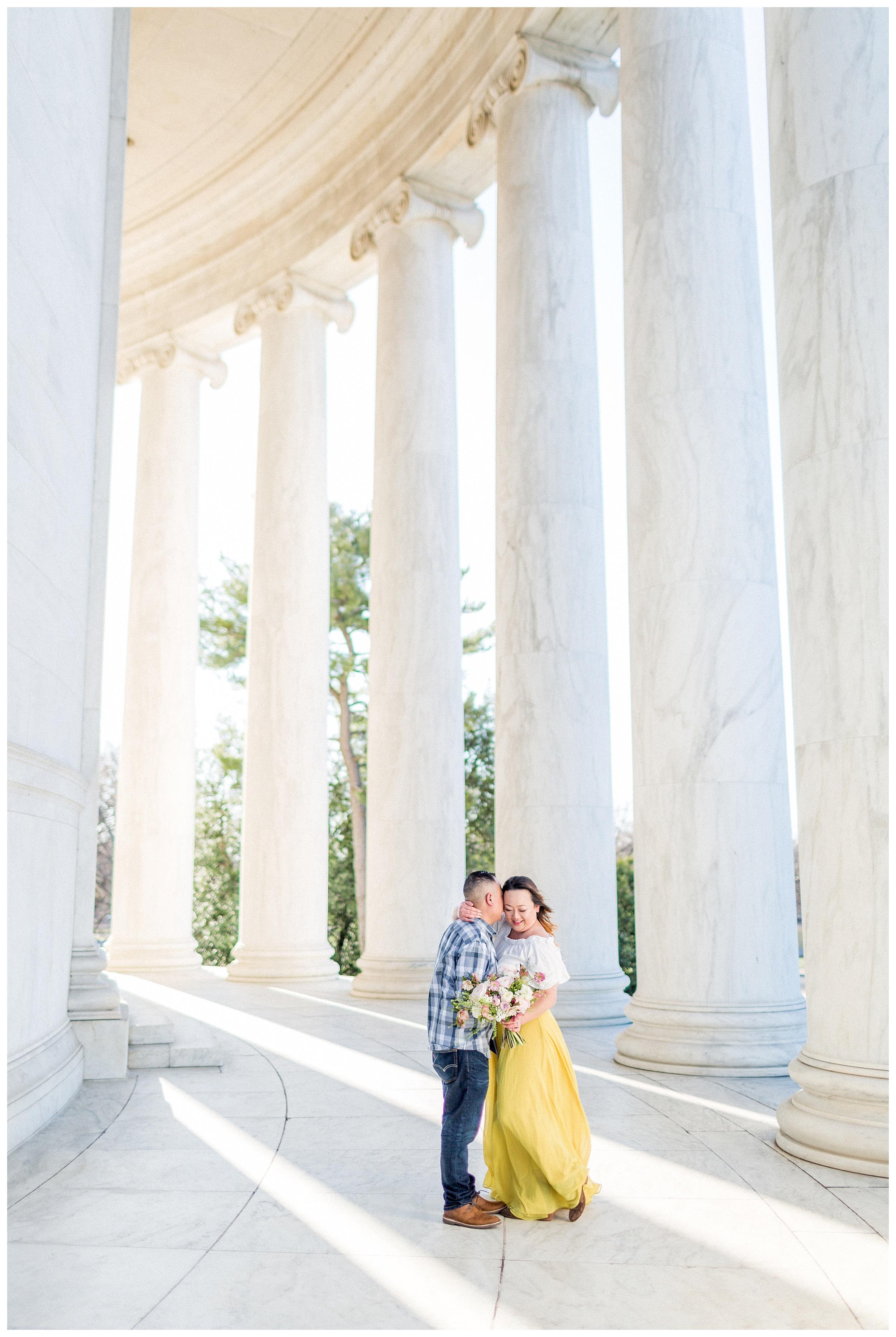 Washington DC Engagement Photos | Thomas Jefferson Engagement Session_0019.jpg