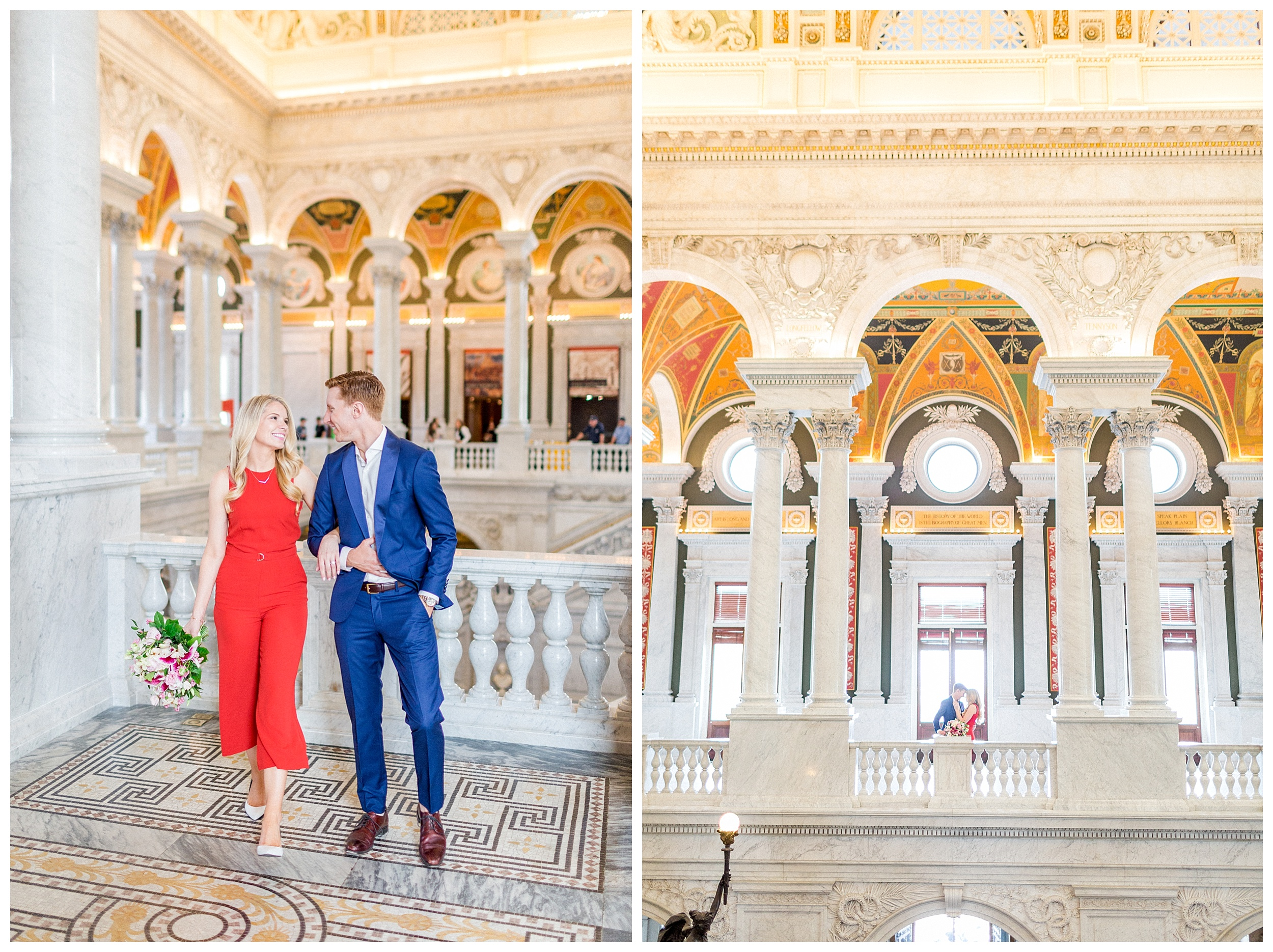 District of Columbia Elopement | Library of Congress Engagement Session Washington DC_0004.jpg