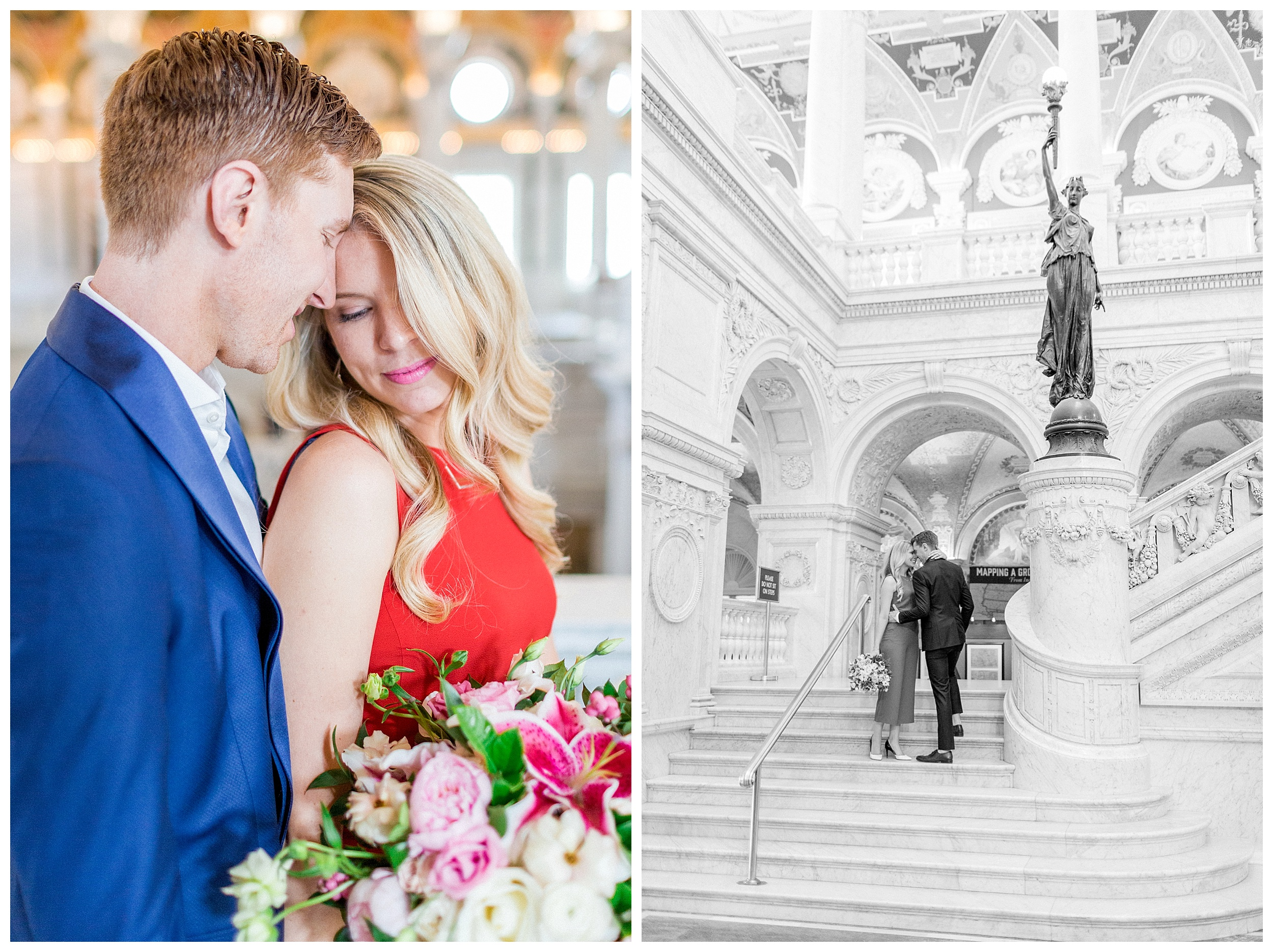 District of Columbia Elopement | Library of Congress Engagement Session Washington DC_0008.jpg