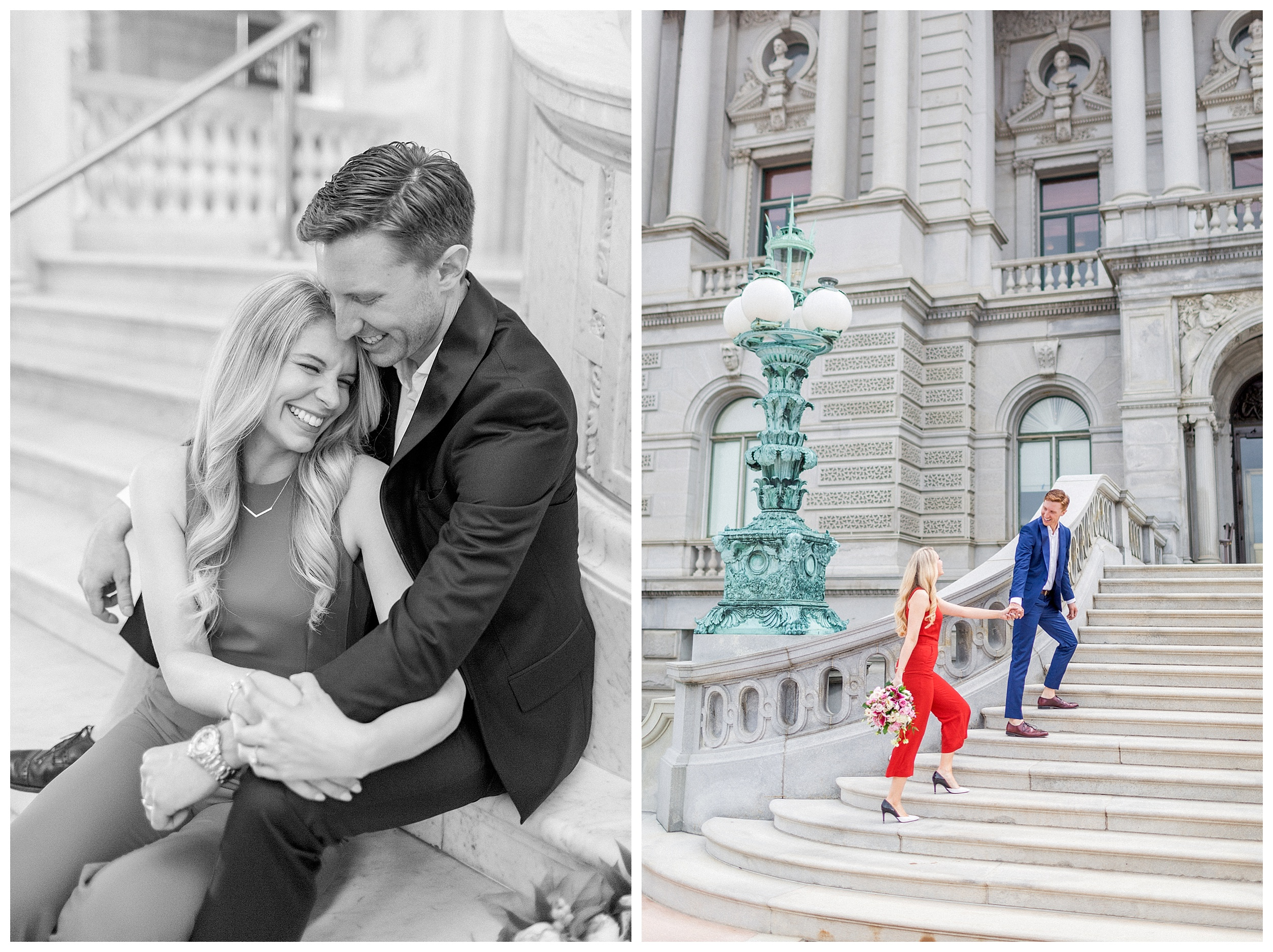 District of Columbia Elopement | Library of Congress Engagement Session Washington DC_0014.jpg