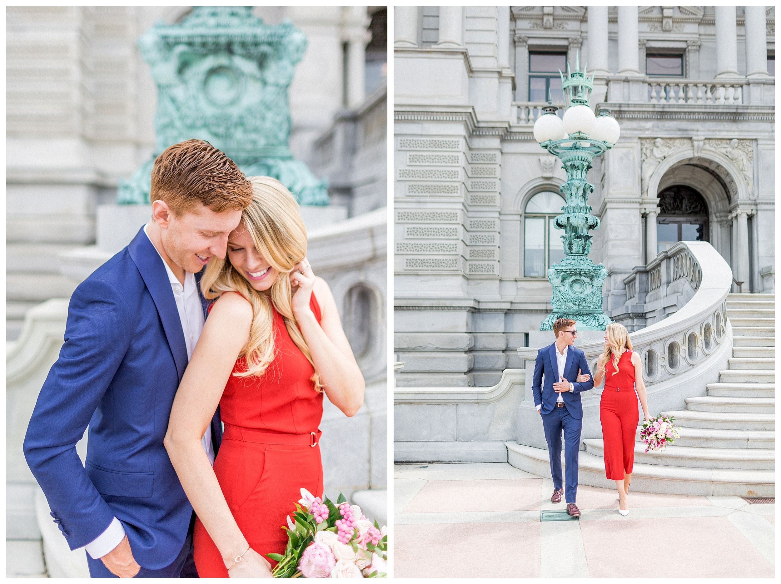 District of Columbia Elopement | Library of Congress Engagement Session Washington DC_0016.jpg