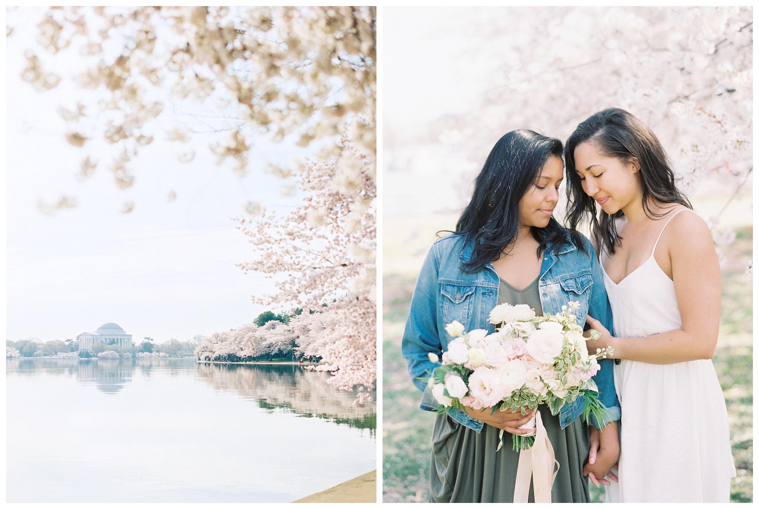 Same Sex DC Engagement | District of Columbia Cherry Blossom Engagement Kir Tuben_0002.jpg