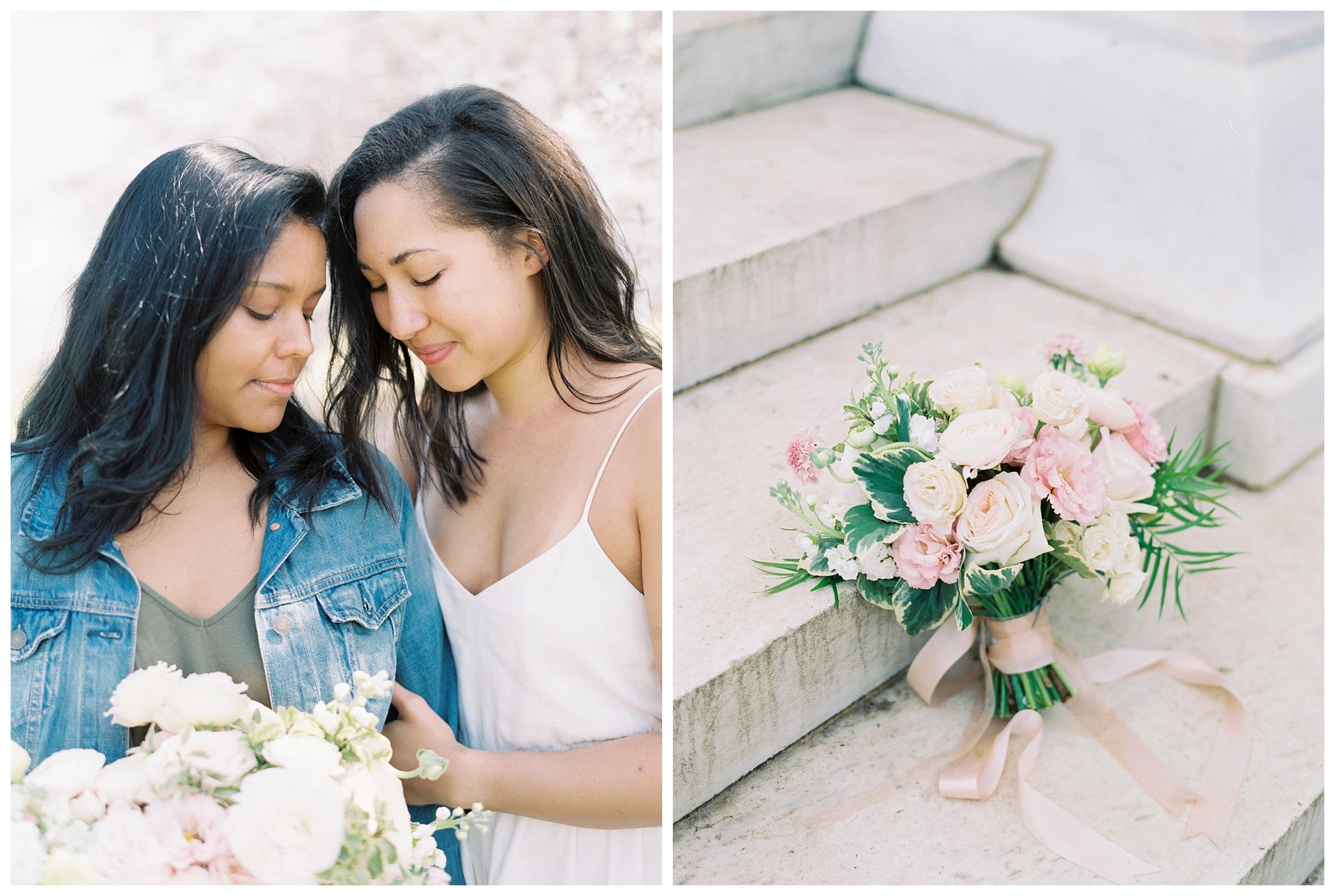 Same Sex DC Engagement | District of Columbia Cherry Blossom Engagement Kir Tuben_0006.jpg
