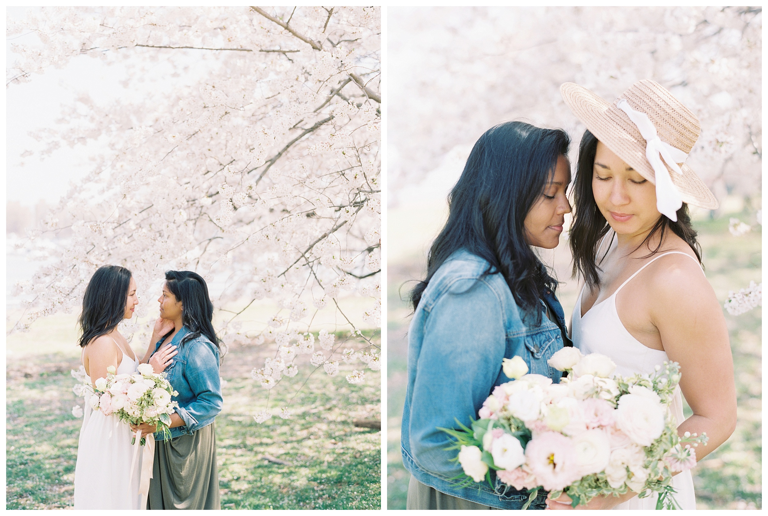 Same Sex DC Engagement | District of Columbia Cherry Blossom Engagement Kir Tuben_0009.jpg
